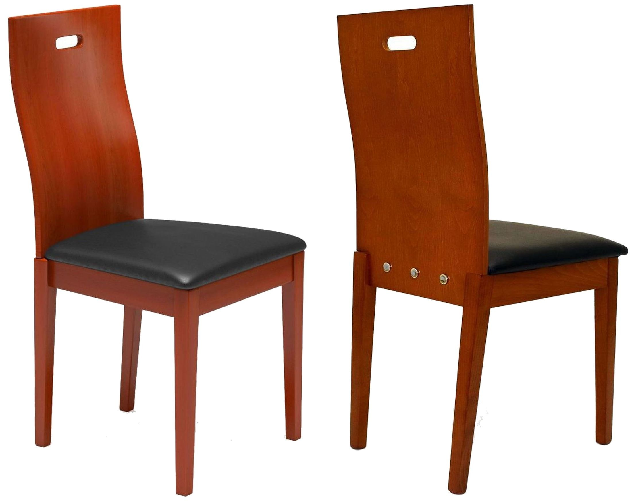 Beechwood district 2 cherry dining chair set of 2 from for District 8 furniture