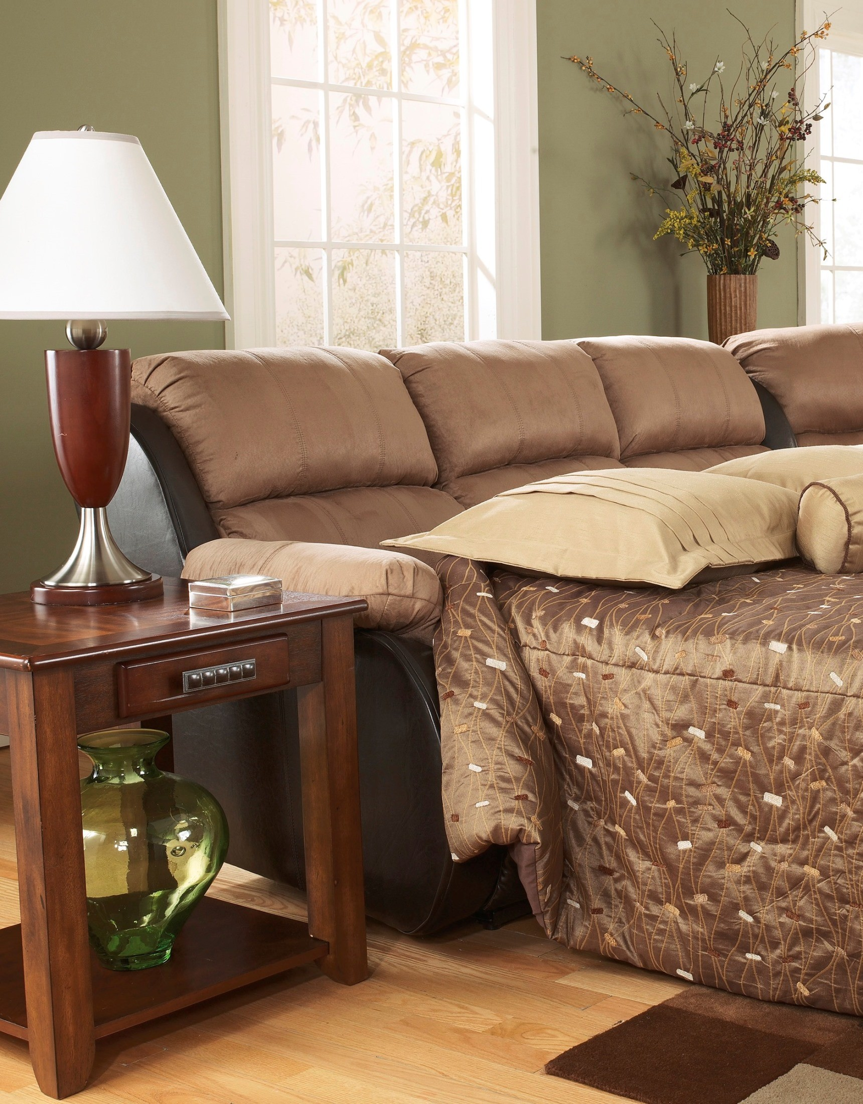 Presley Cocoa Full Sofa Sleeper 1720 x 2200