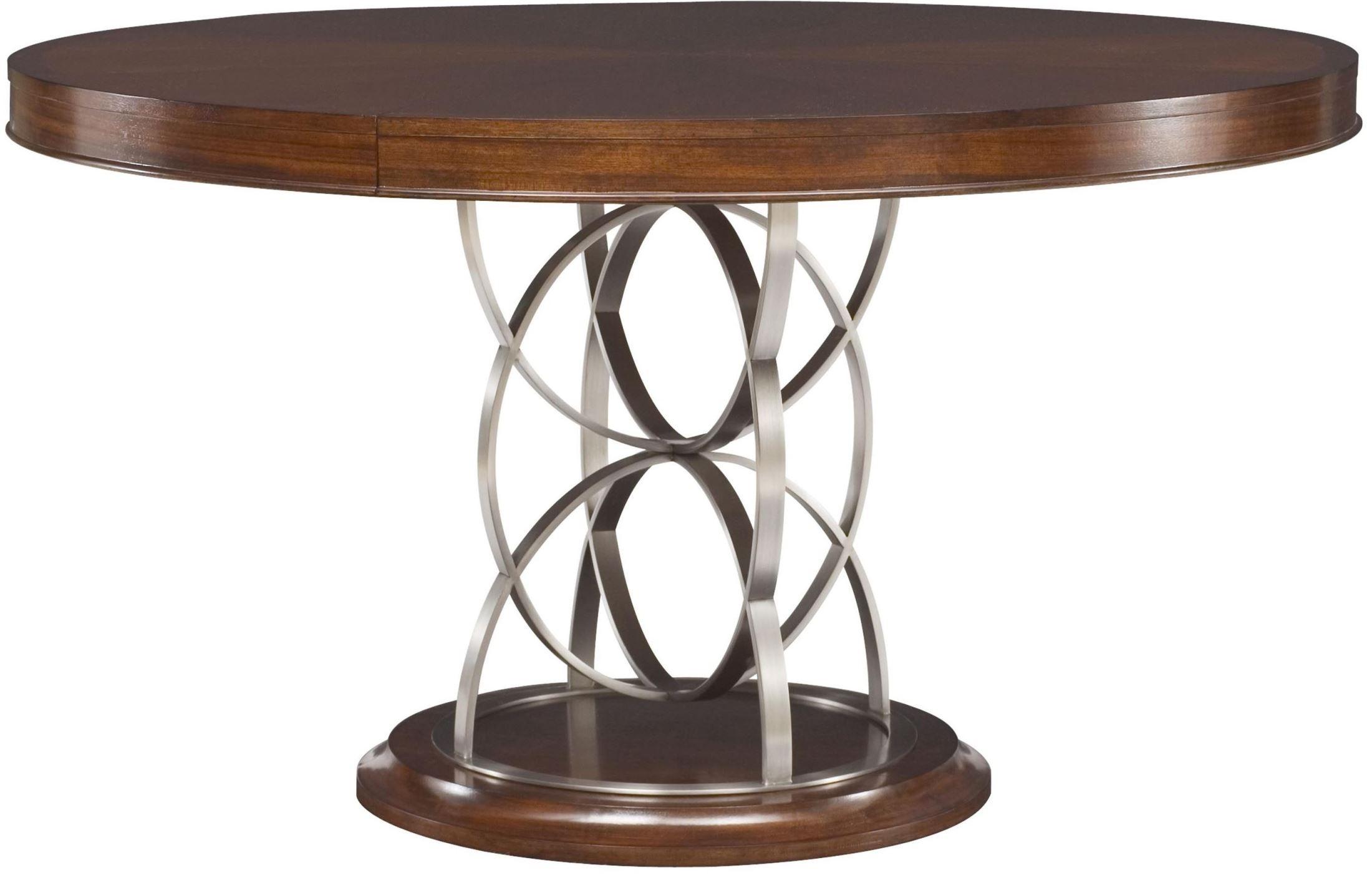 Motif Walnut Extendable Round Pedestal Dining Table 318  : 318 701rsilo from colemanfurniture.com size 2200 x 1415 jpeg 208kB