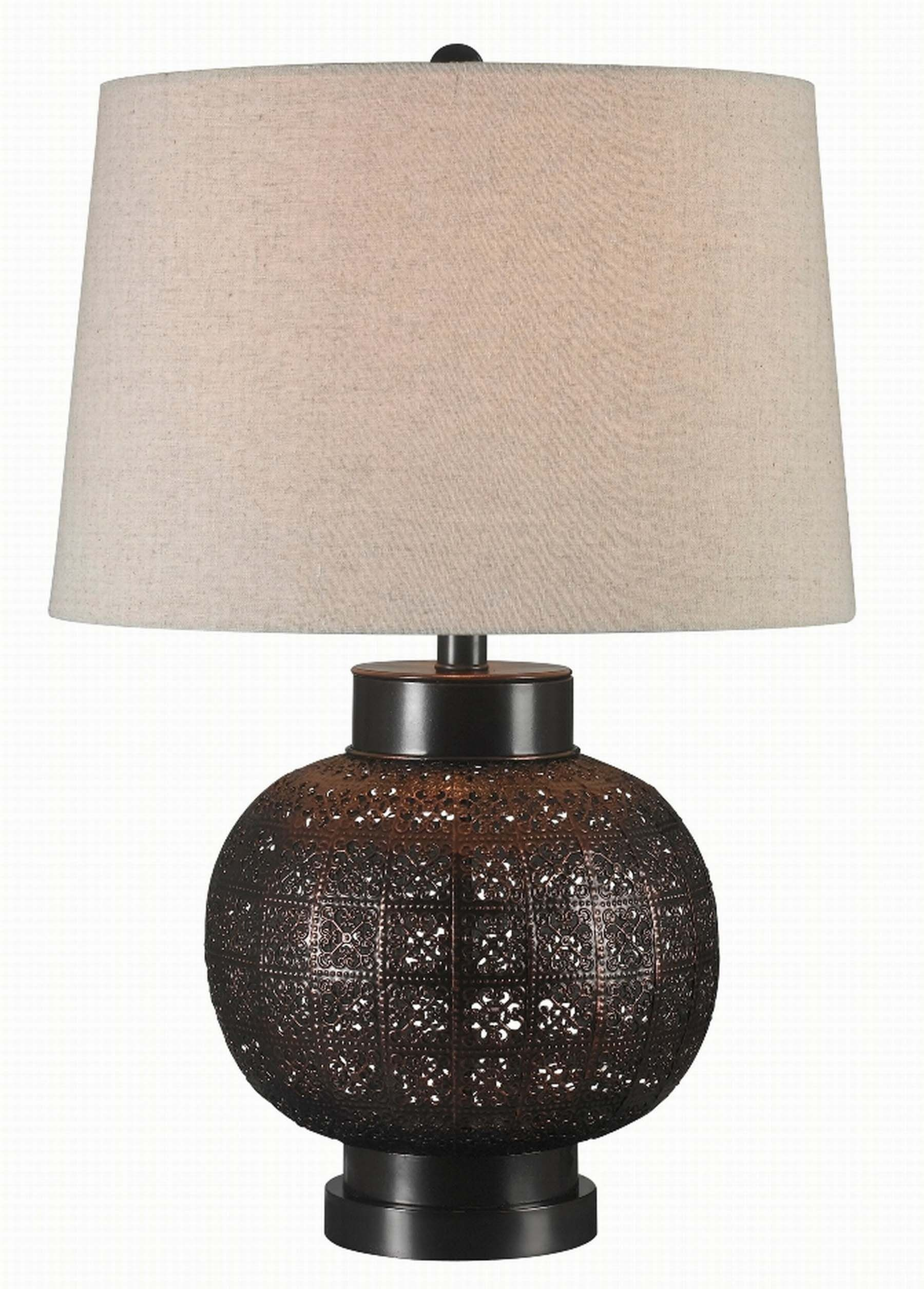 seville oil rubbed bronze table lamp from kenroy 32163orb. Black Bedroom Furniture Sets. Home Design Ideas