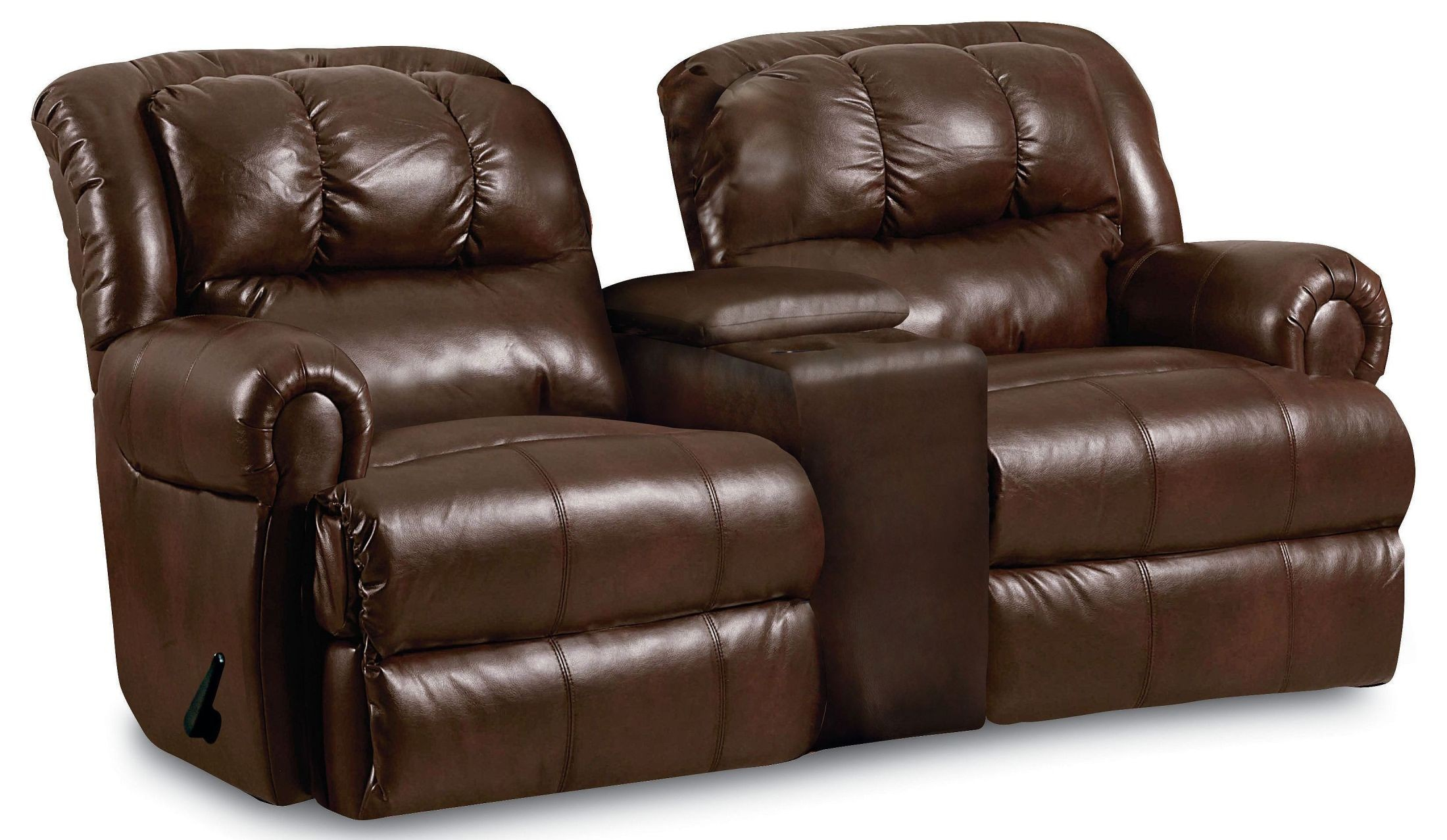 Rocker Recliner Loveseat With Console Reclining Loveseat
