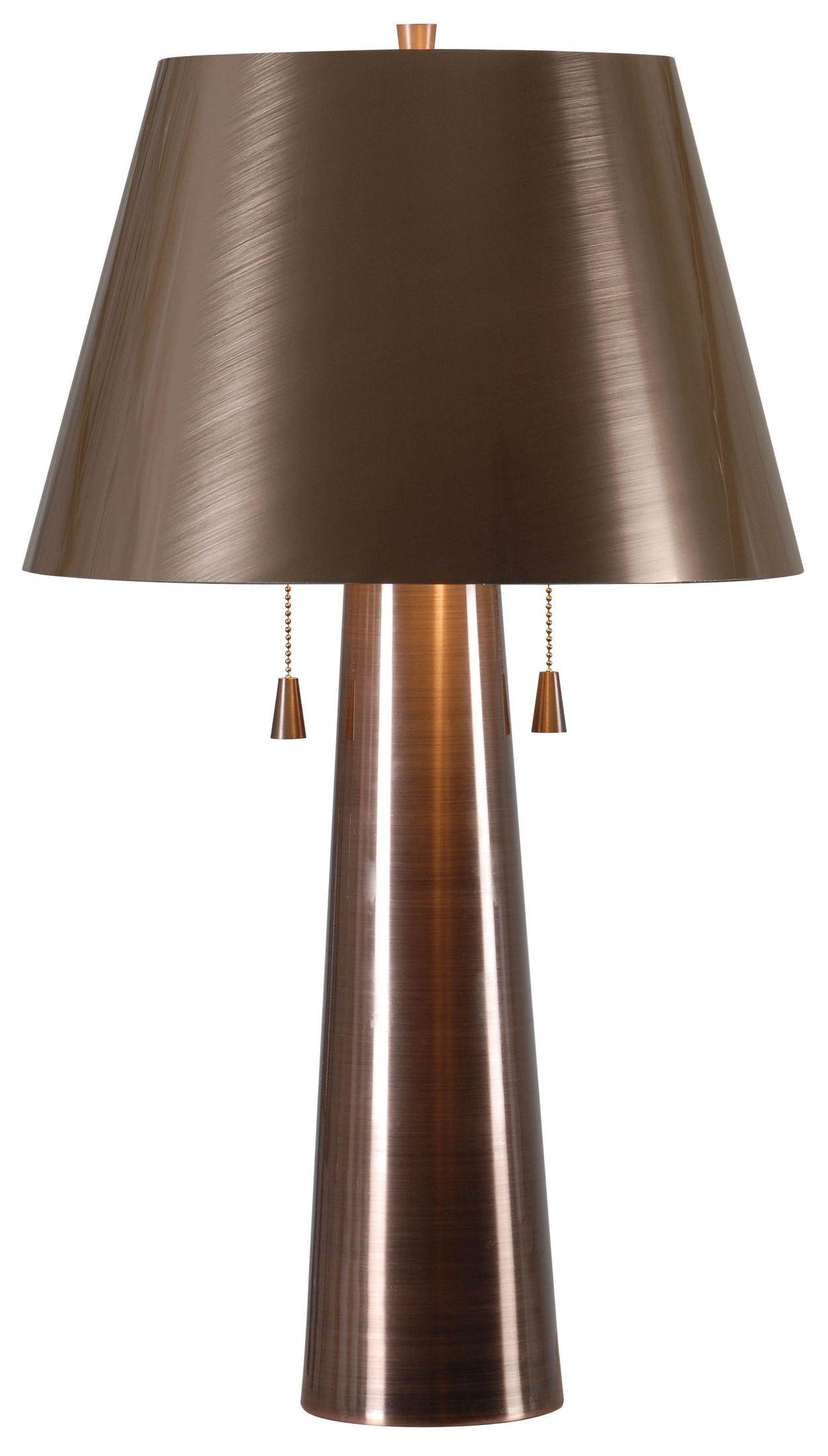 Antique Table Lamps Catalogs : Biblio antique copper table lamp ancp kenroy home