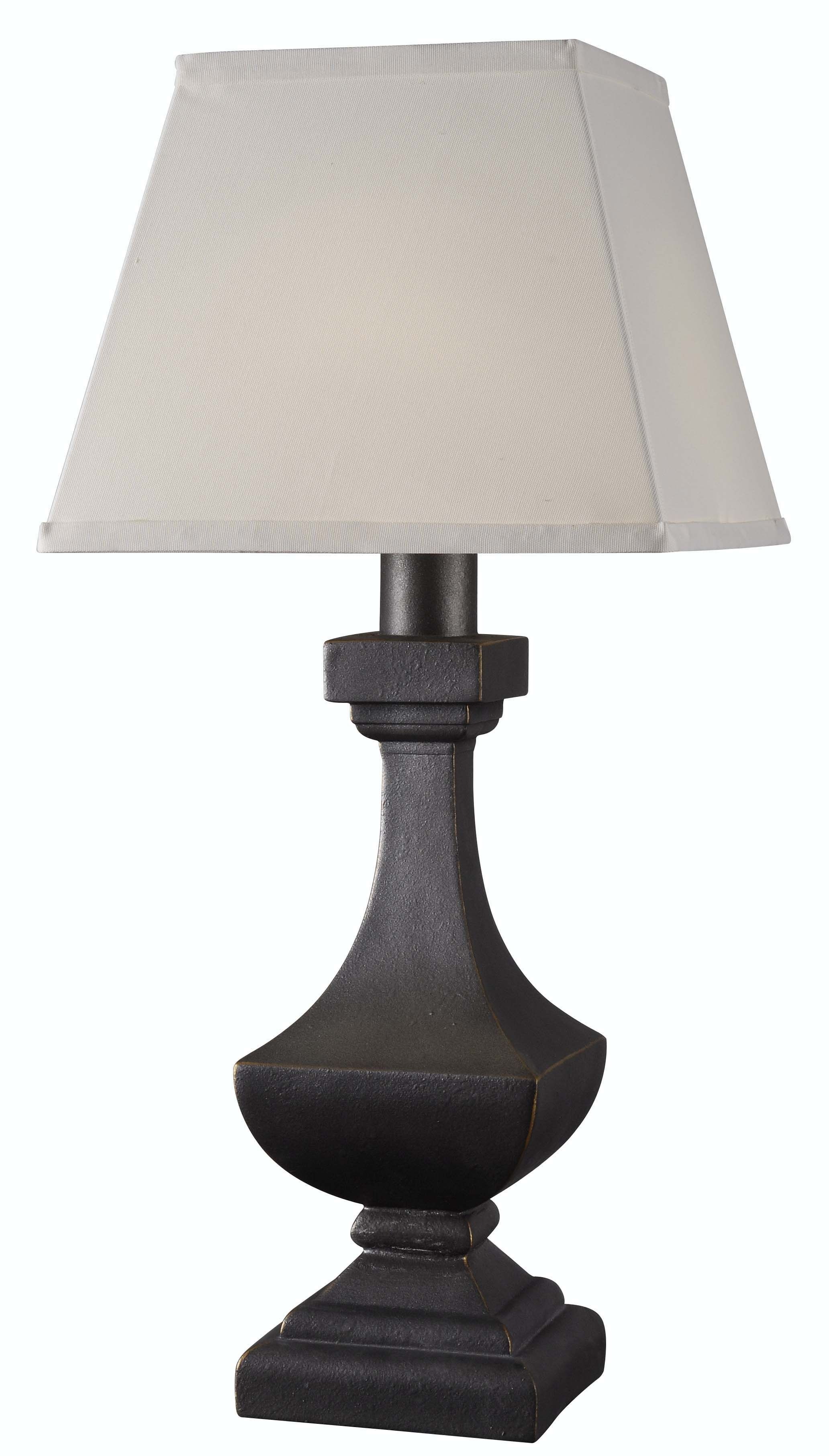 ... Solar Powered Table Lamps By Palladium Outdoor Solar Table Lamp From  Kenroy 32570wbz ...