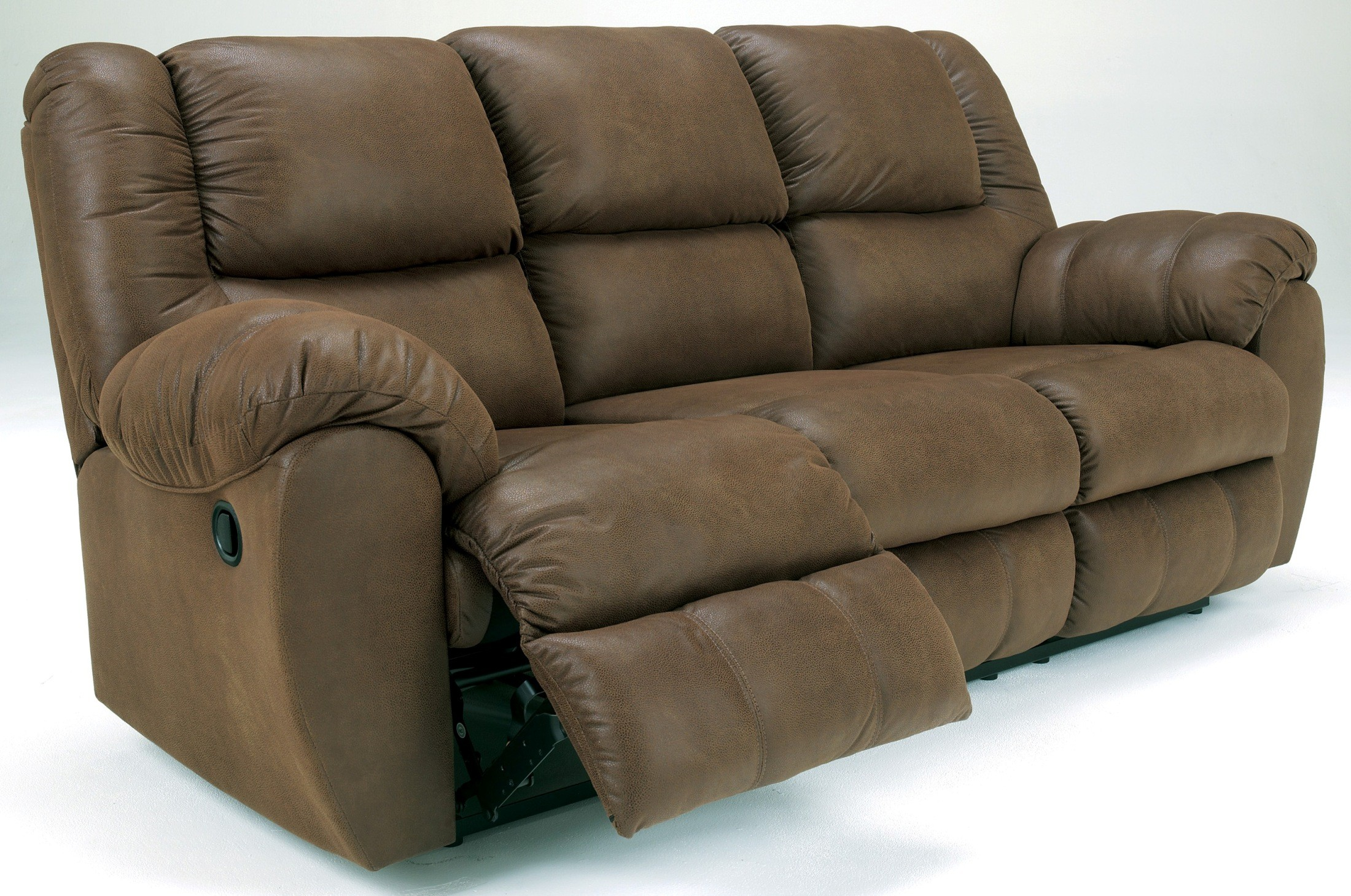 Quarterback Canyon Reclining Sofa From Ashley 3270188