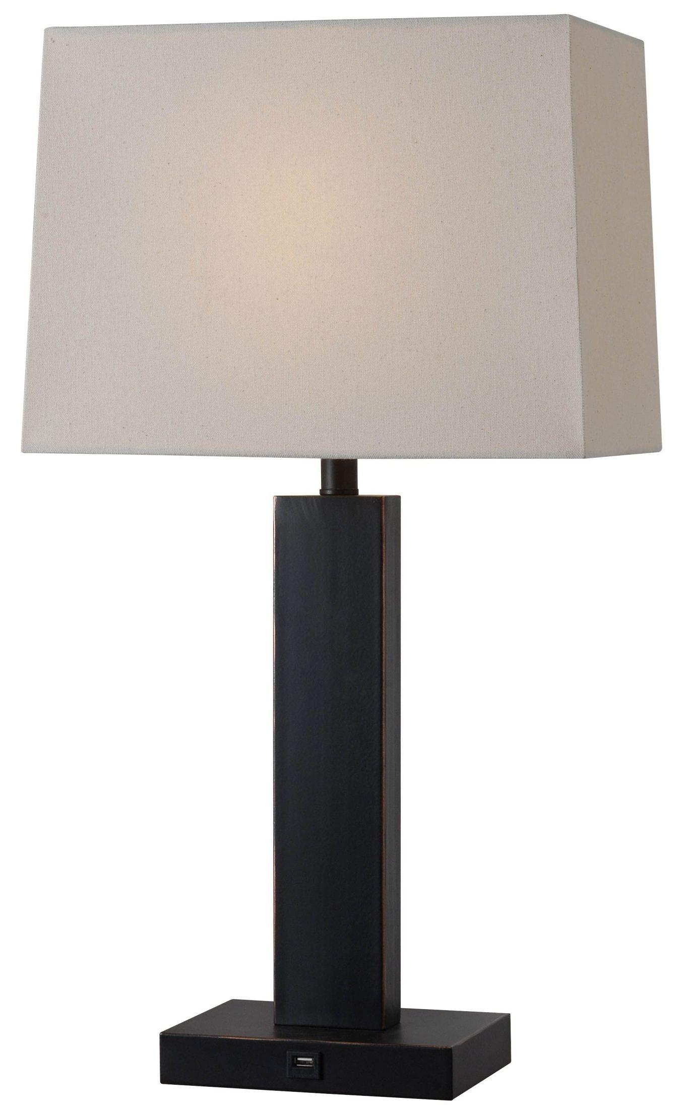 innkeeper oil rubbed bronze table lamp 32758orb kenroy home. Black Bedroom Furniture Sets. Home Design Ideas