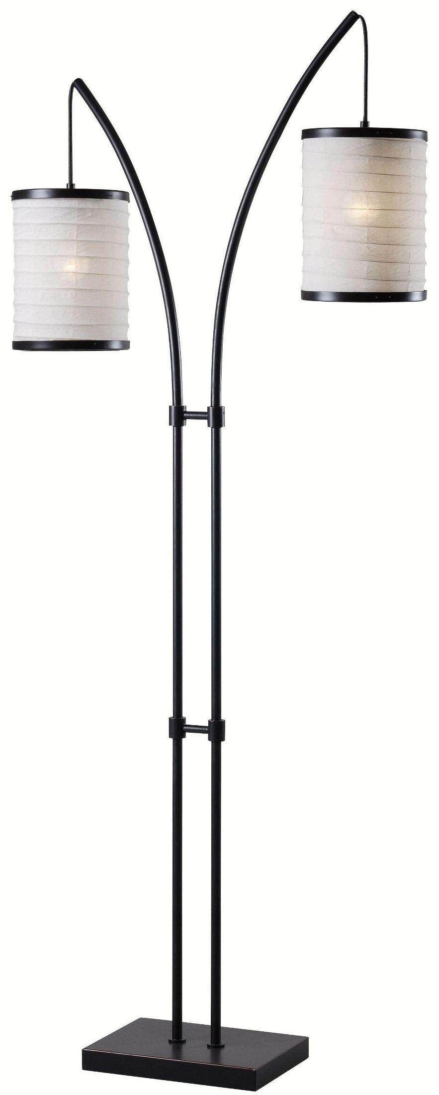 lanterna oil rubbed bronze floor lamp 32763orb kenroy home. Black Bedroom Furniture Sets. Home Design Ideas