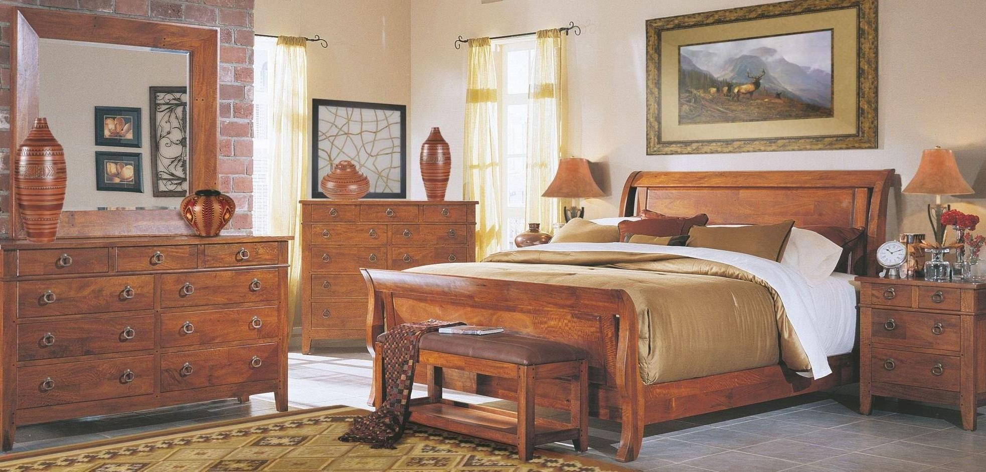 Urban Craftsmen Sleigh Bedroom Set 340 050 012013995525 Klaussner
