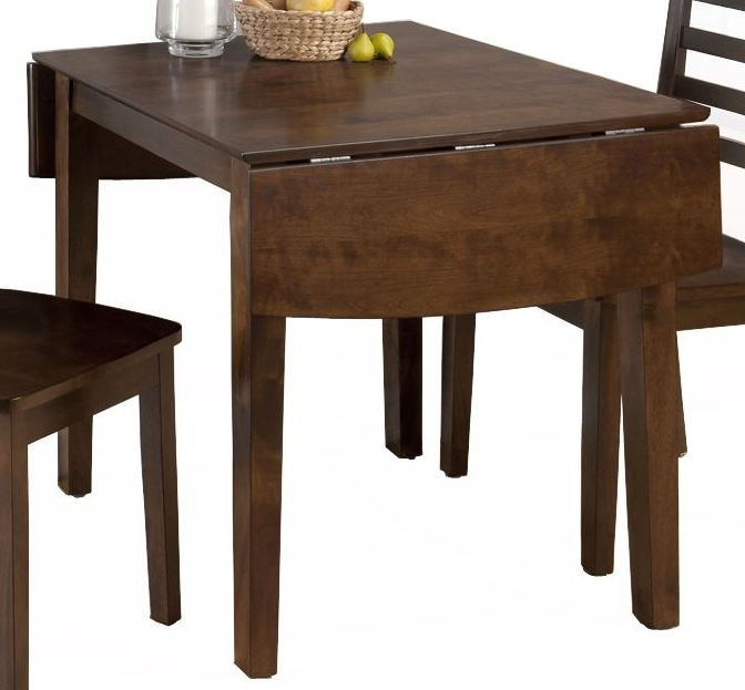 Taylor cherry extendable drop leaf dining table 342 48 for 48 dining table with leaf