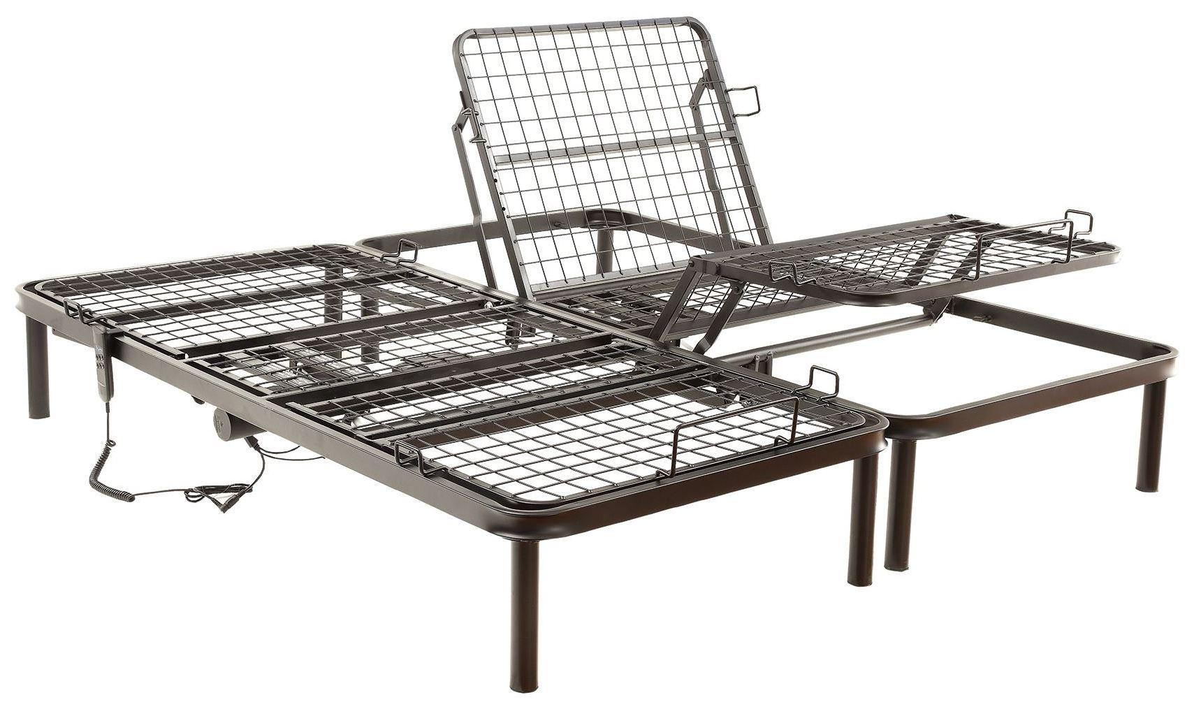 Queen Size Electric Adjustable Bed Frame : Queen electric adjustable bed from coaster q