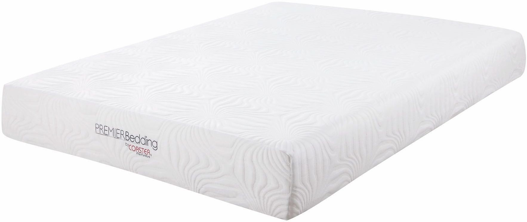 Key 10 Queen Memory Foam Mattress 350064q Coaster Furniture
