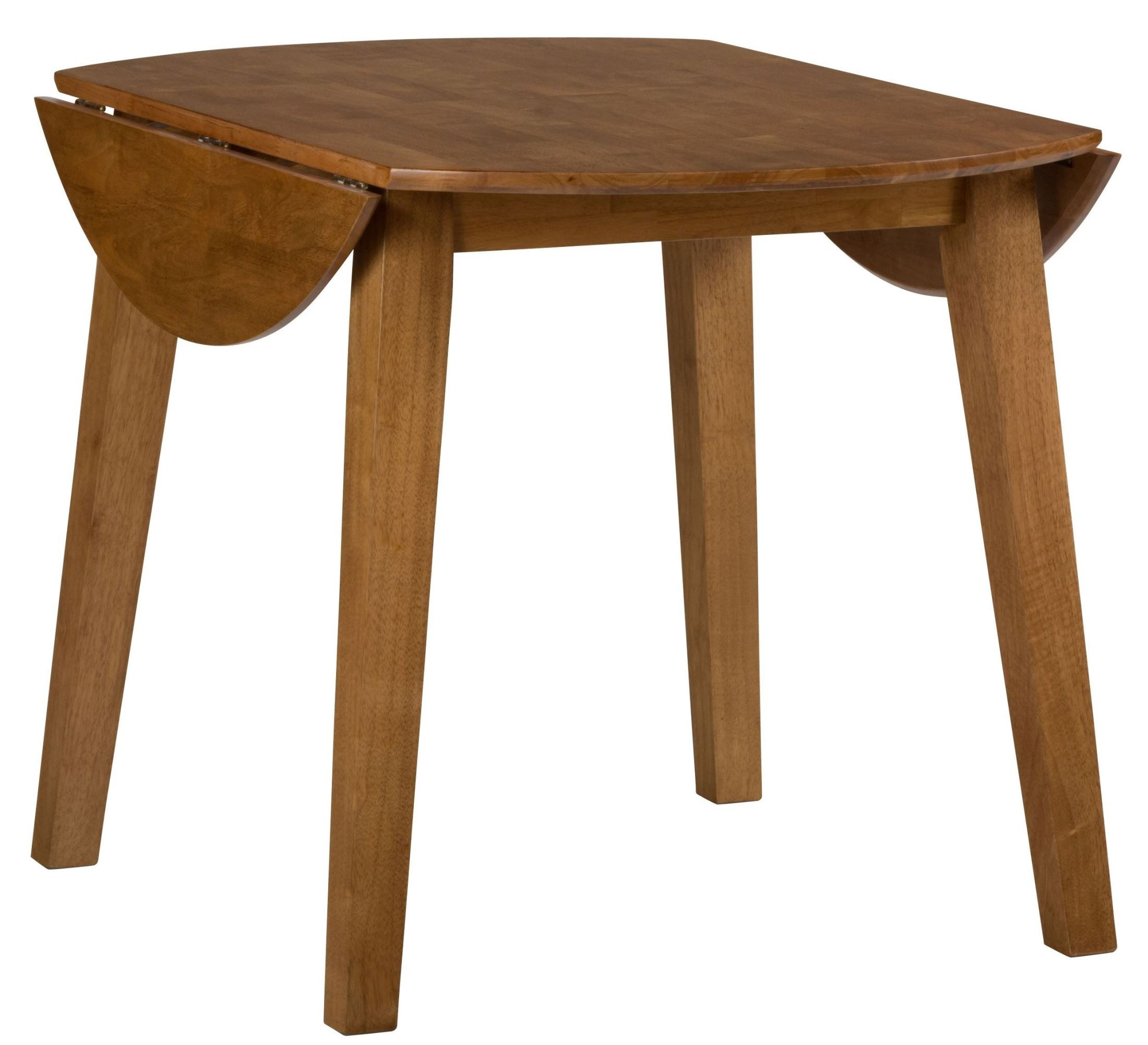 honey extendable round drop leaf dining table 352 28 jofran