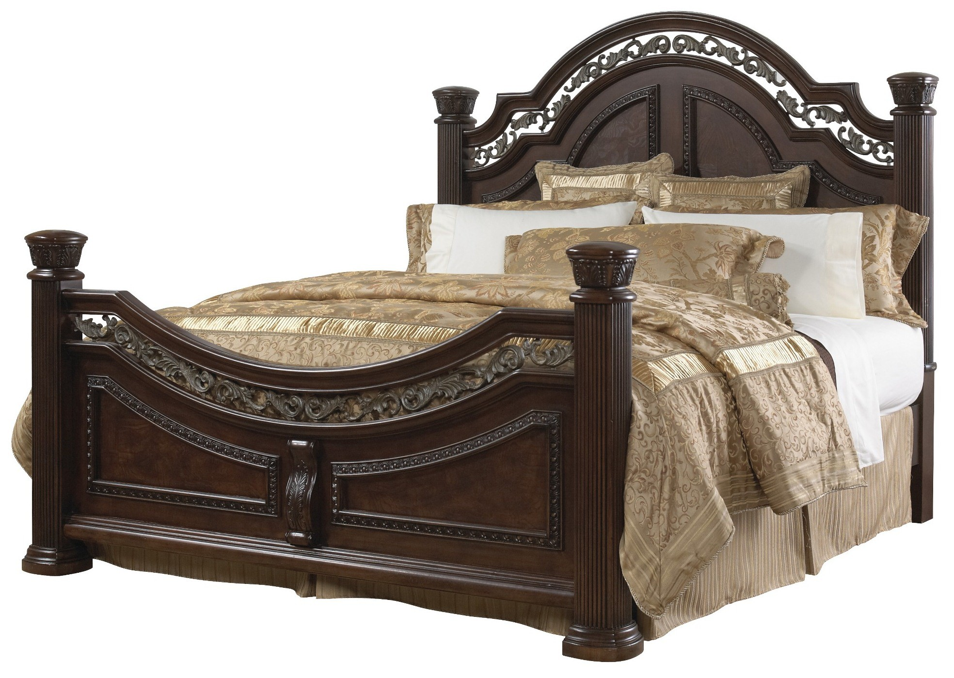 San marino cal king size bed from samuel lawrence 3530 for Cal king bed size