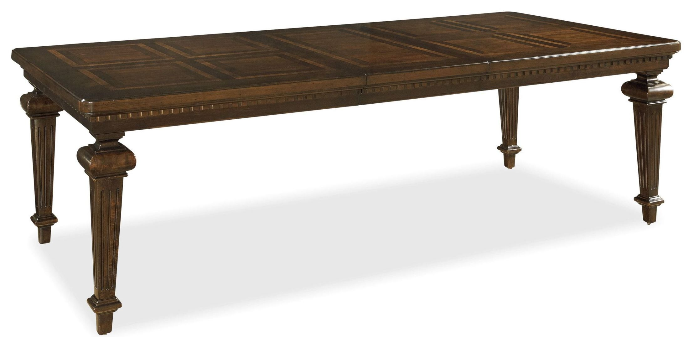 Proximity rectangular extendable dining room table from universal 356653 coleman furniture - Rectangular dining table for 6 ...