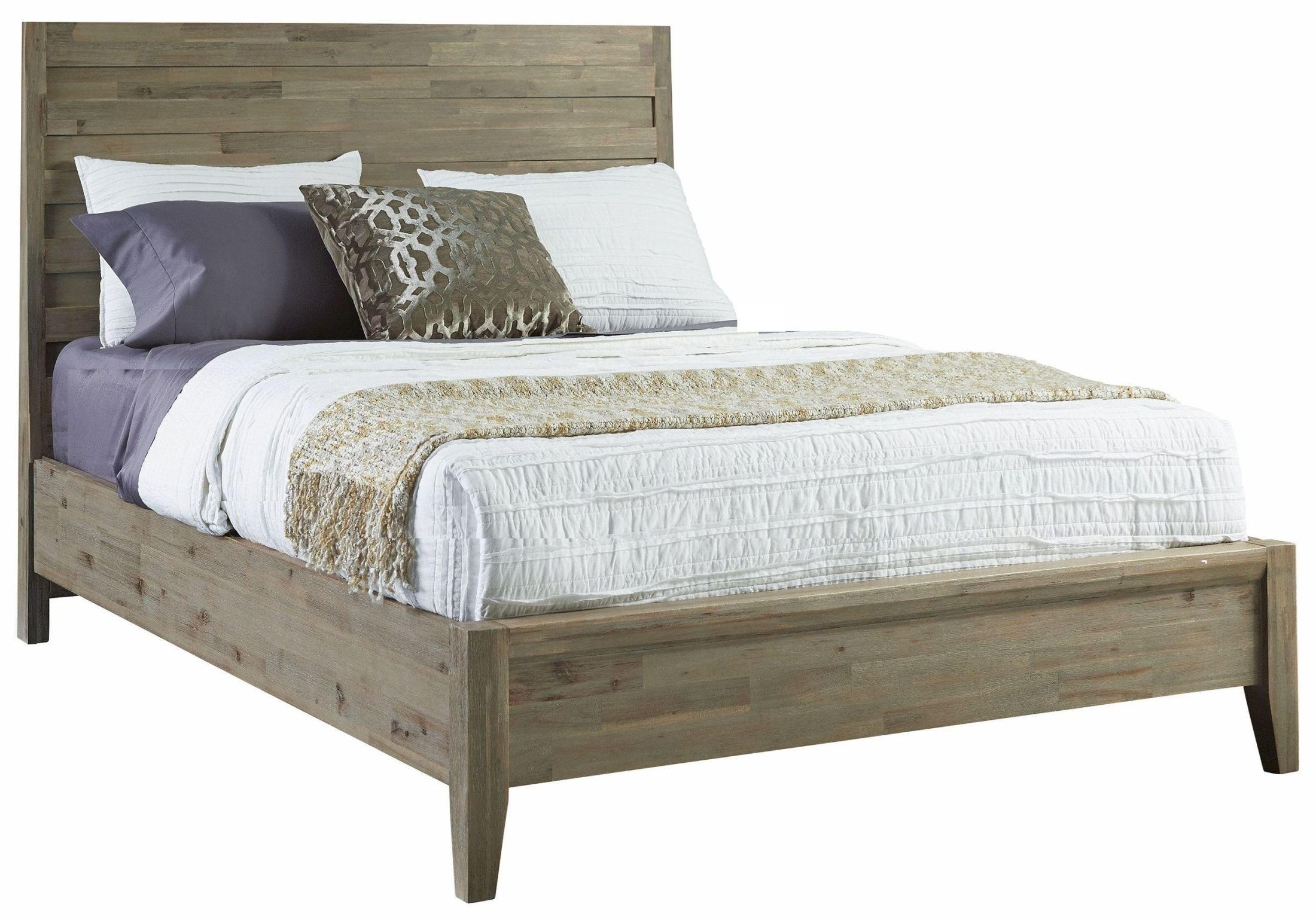 harbourside weathered wire brushed horizontal queen slat panel bed 372 920kq casana. Black Bedroom Furniture Sets. Home Design Ideas