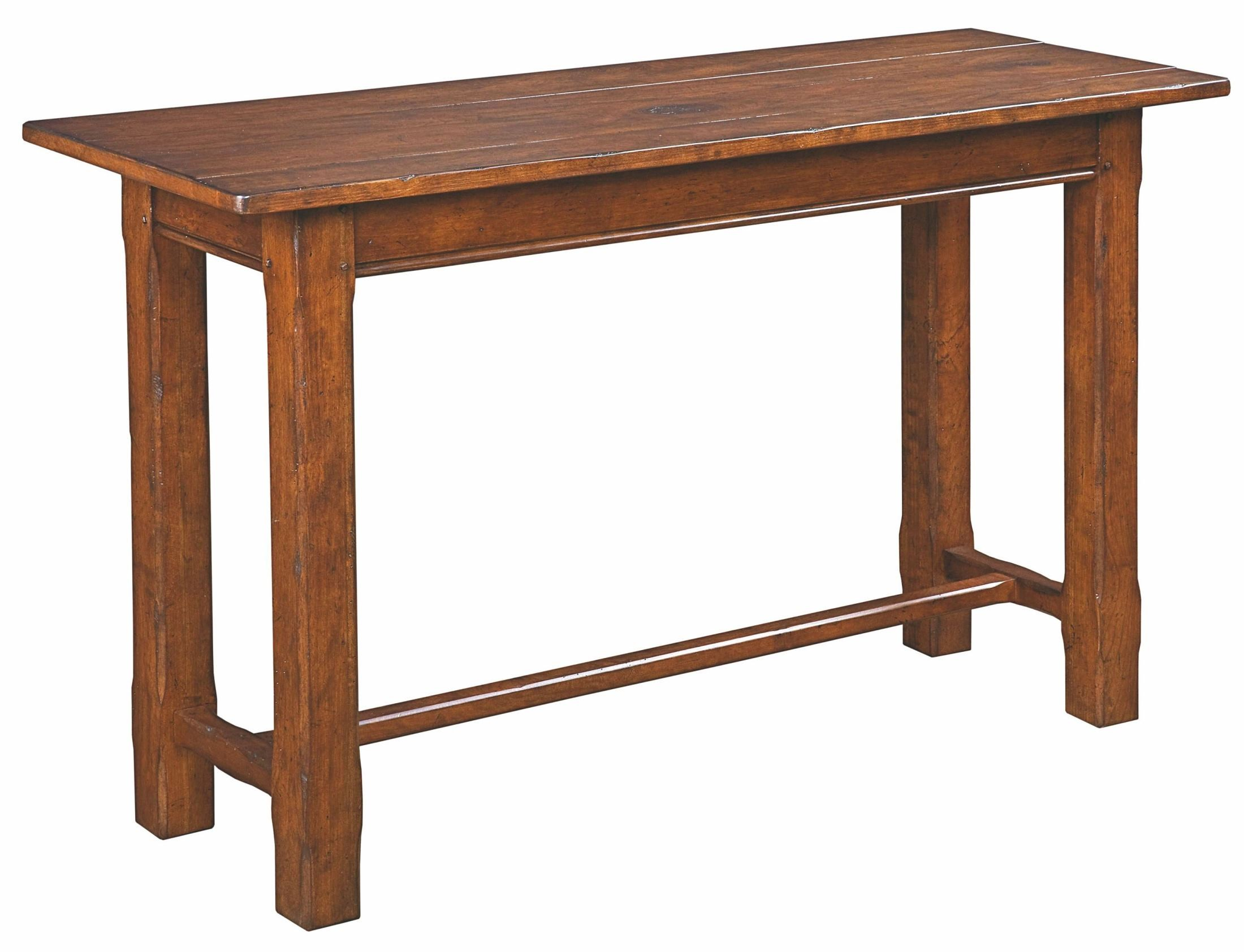 Homecoming vintage cherry camden sofa table from kincaid 38 025 coleman furniture Retro sofa table