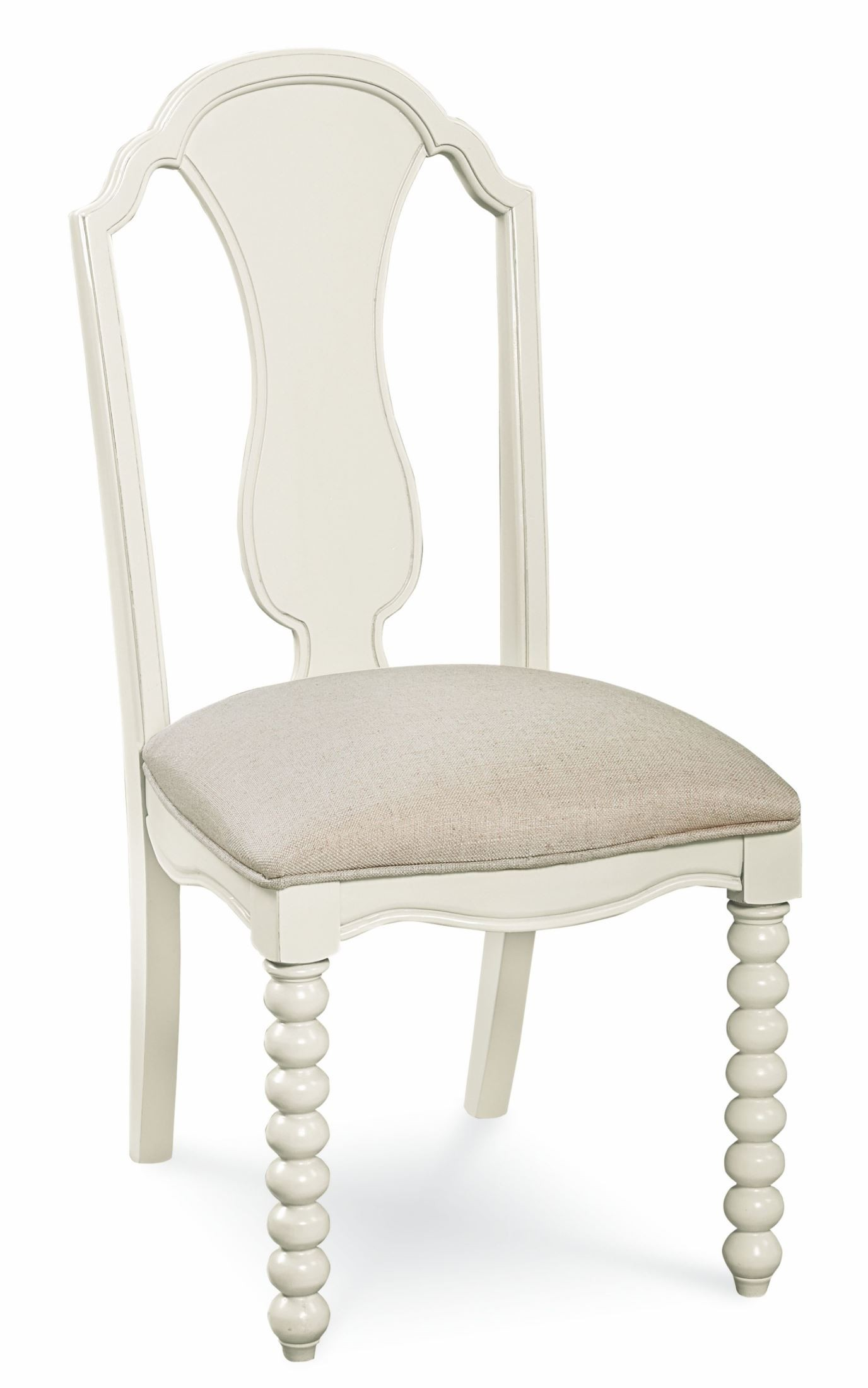 Inspirations Seashell White Upholstered Boutique Chair from Legacy ...
