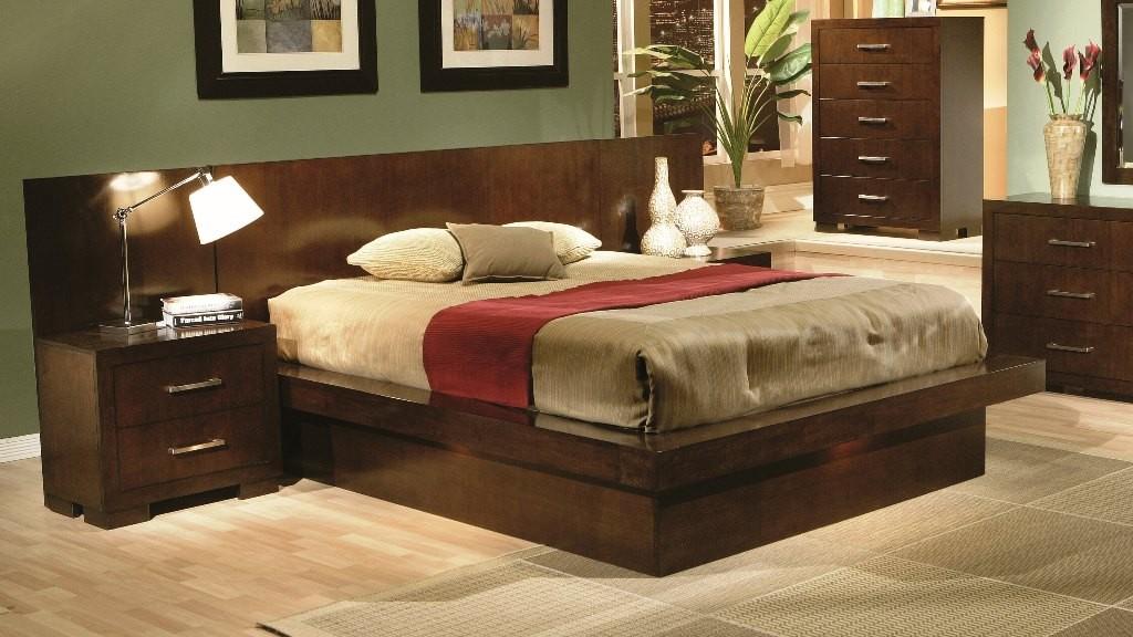 Jessica platform bedroom set 200711 from coaster 200711 coleman furniture - Jessica bedroom set ...
