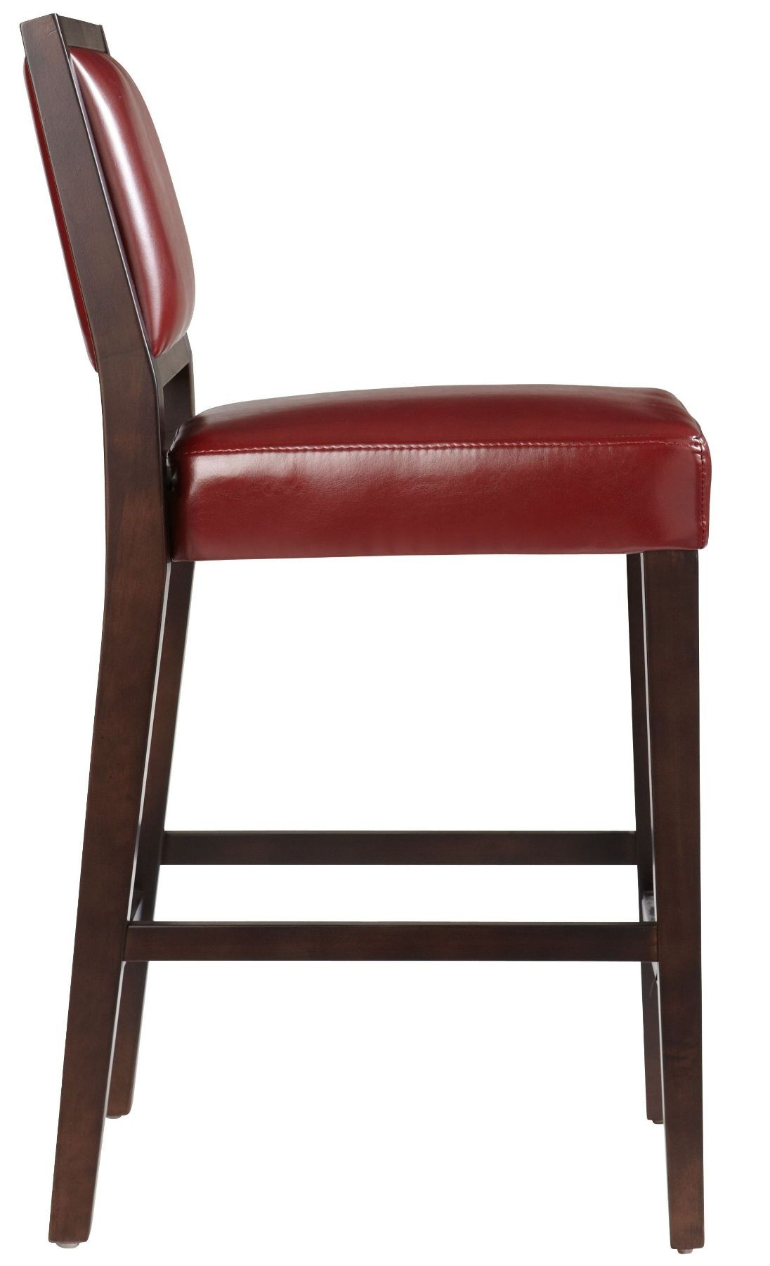 Citizen Oxblood Counter Stool From Sunpan 39054