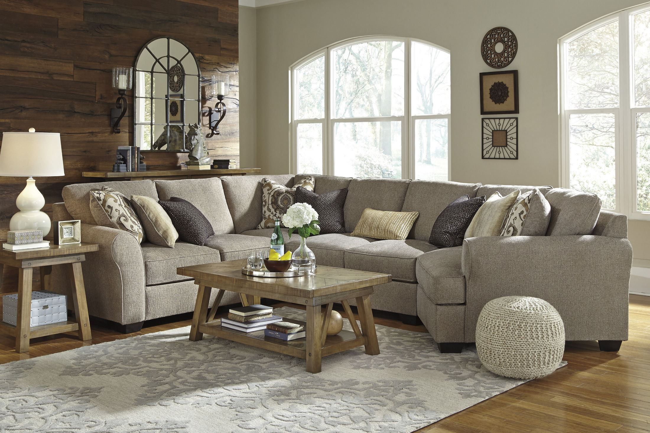 Ashley Sectional Pantomime Ashley Sectional ponents Vista
