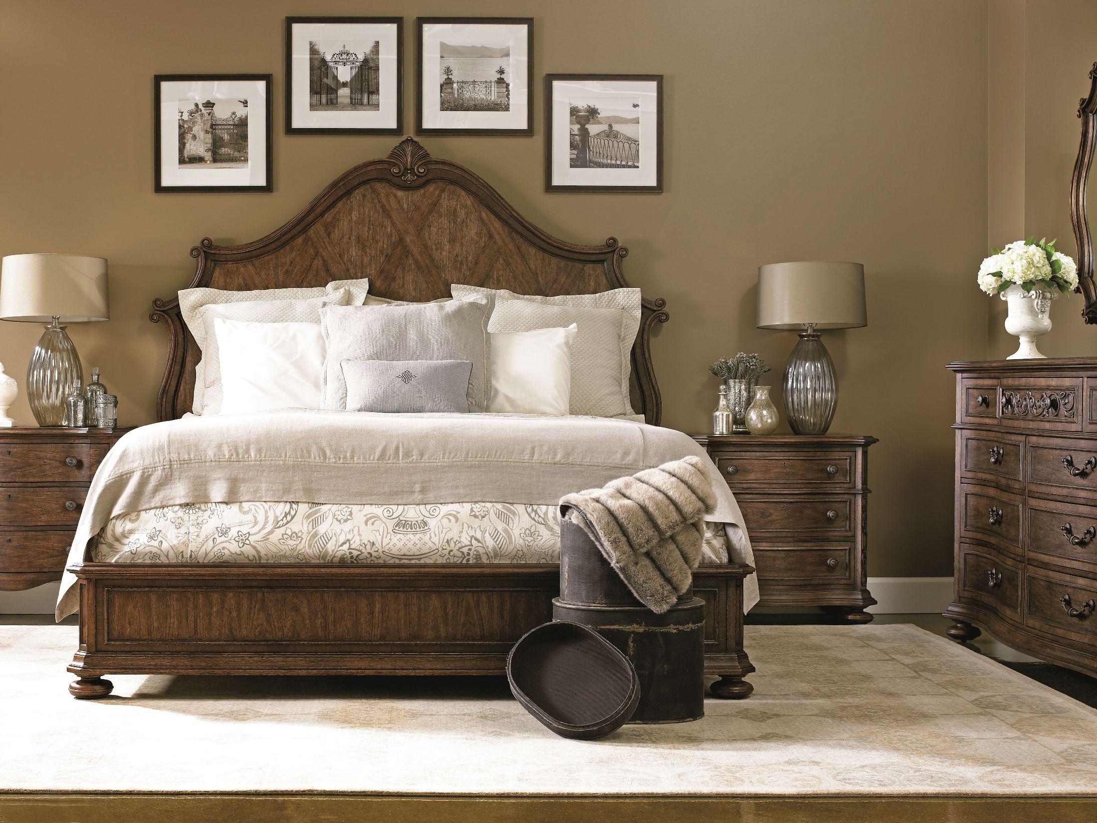 villa fiore wood panel bedroom set 391 13 40 stanley furniture