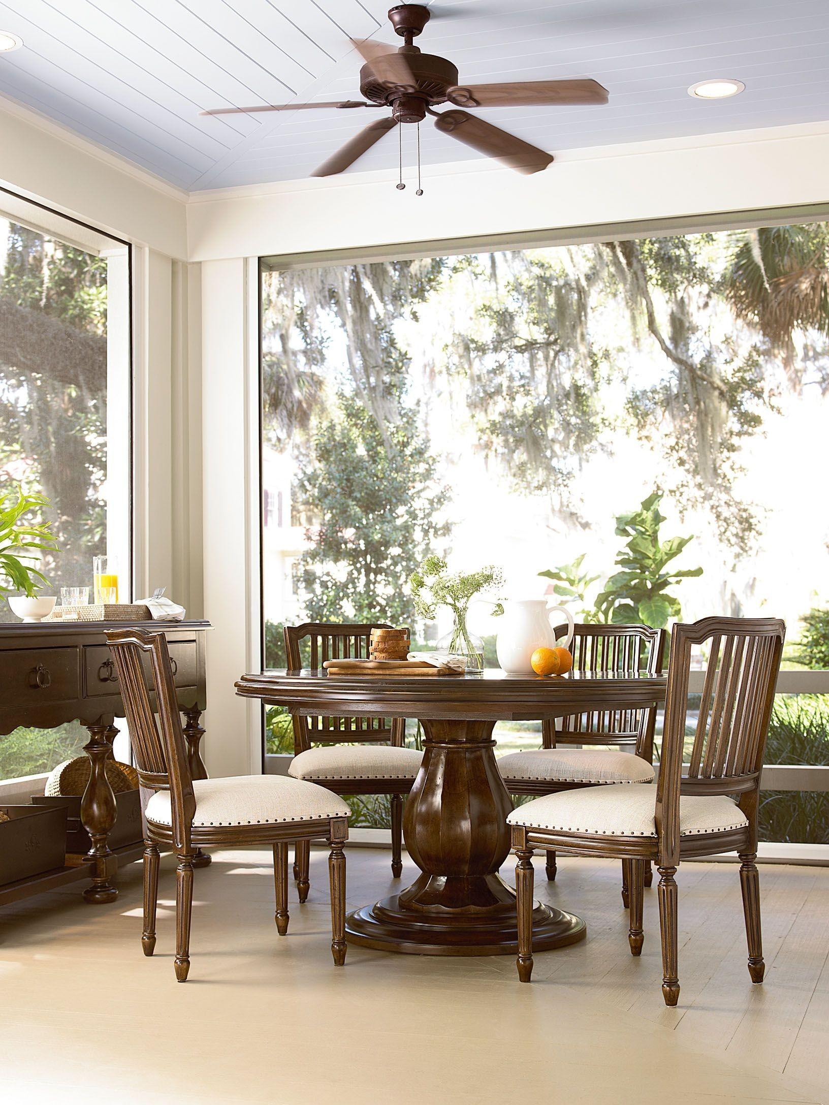 round pedestal extendable dining room set id upd 393657 spec room 1