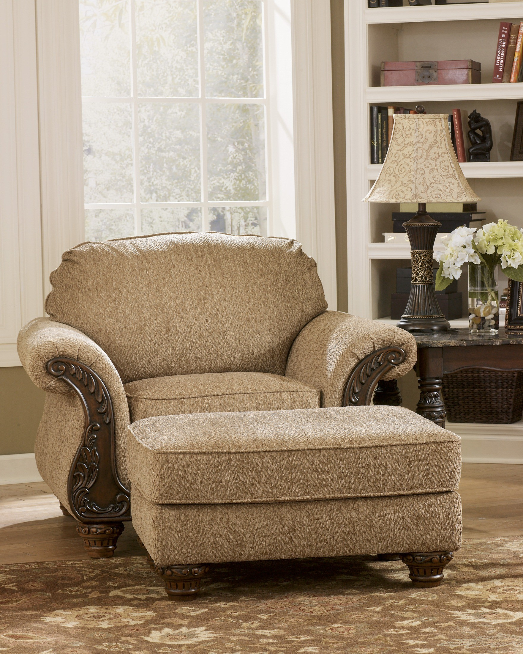 Cambridge amber living room set from ashley 3940138 for Affordable furniture cambridge