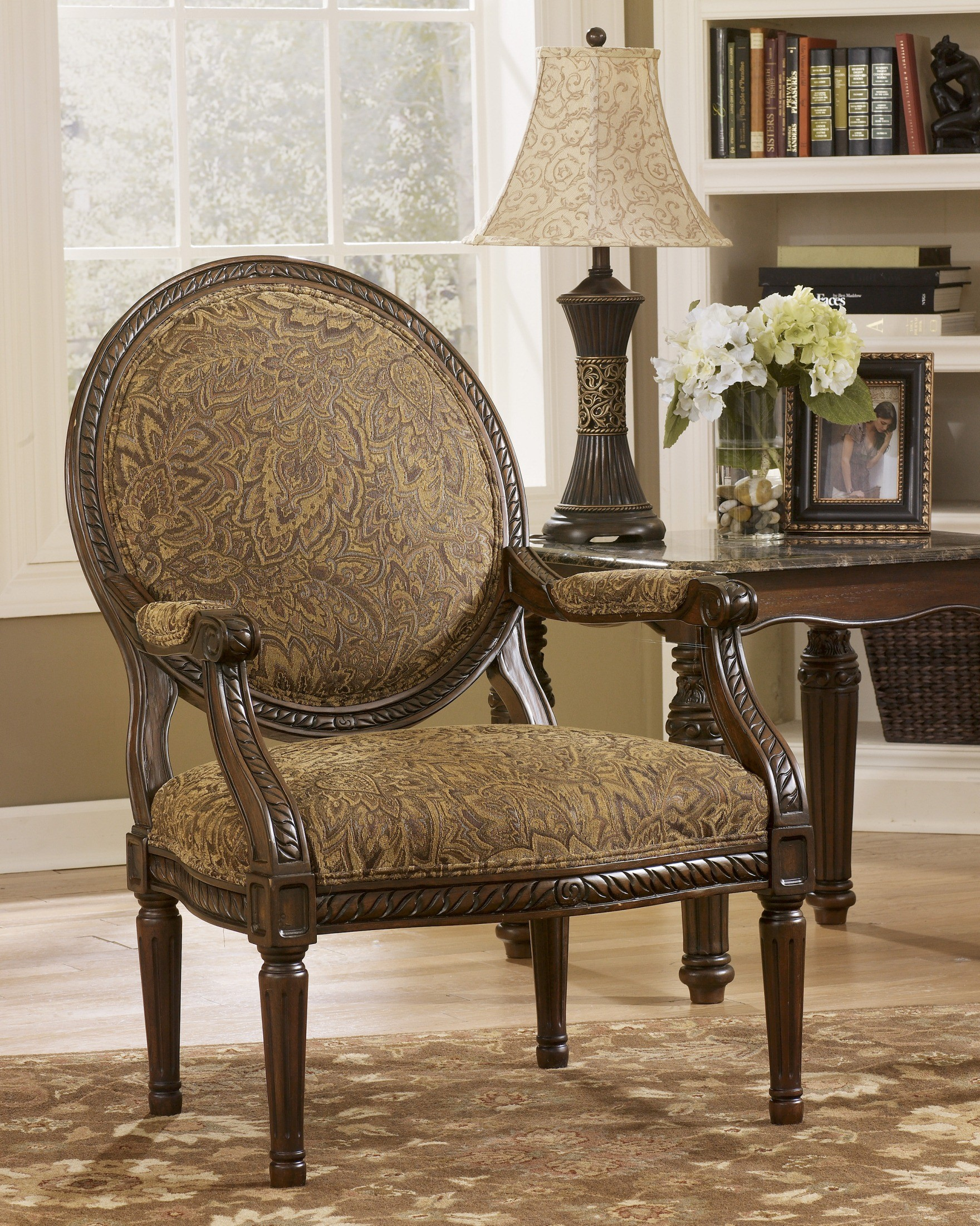 Cambridge Amber Showood Accent Chair From Ashley 3940160