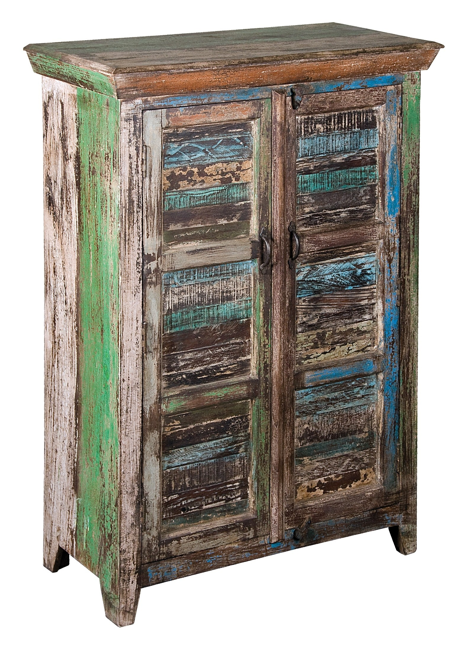 2 Door Large Reclaimed Wood Cabinet 39512 Coast To Coast