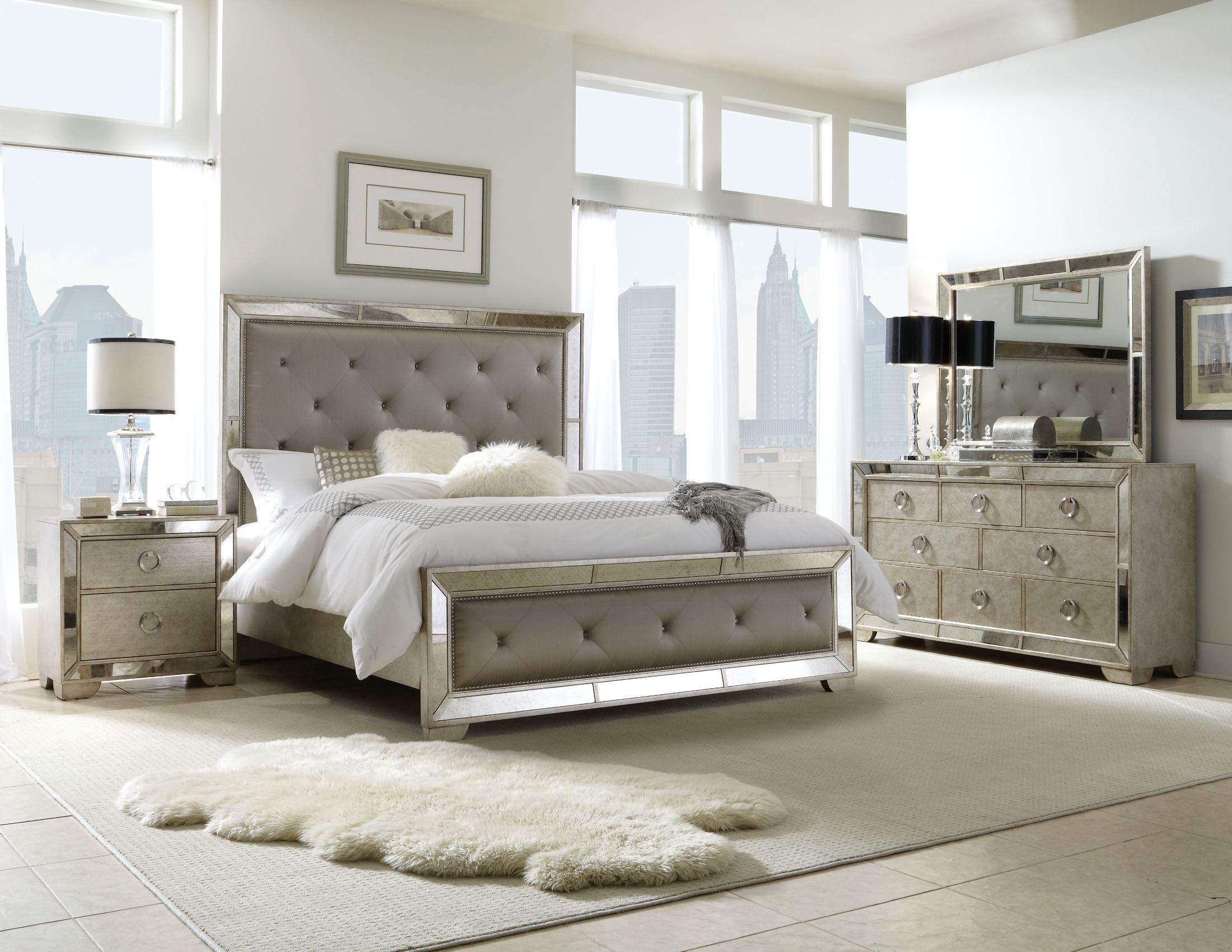 Platform Bedroom Furniture Sets Farrah Platform Bedroom Set From Pulaski 395170 395171 395172