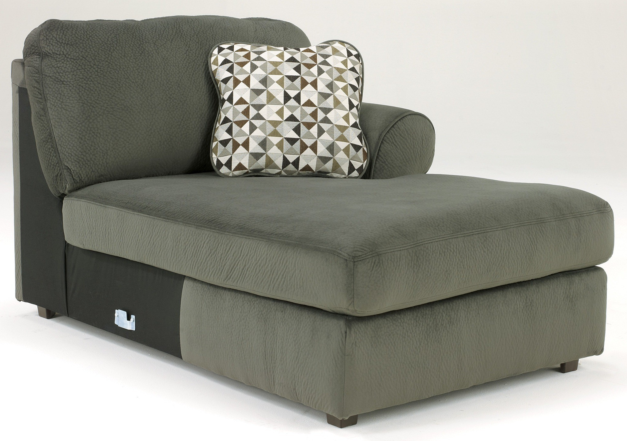 Jessa place 3 piece sectional - Jessa Place Pewter Right Arm Facing Sectional From Ashley 39803 66 34 17 Coleman Furniture