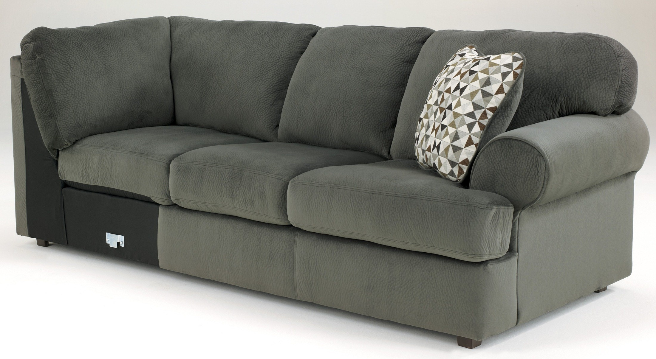 Jessa Place Pewter Left Arm Facing Sectional From Ashley