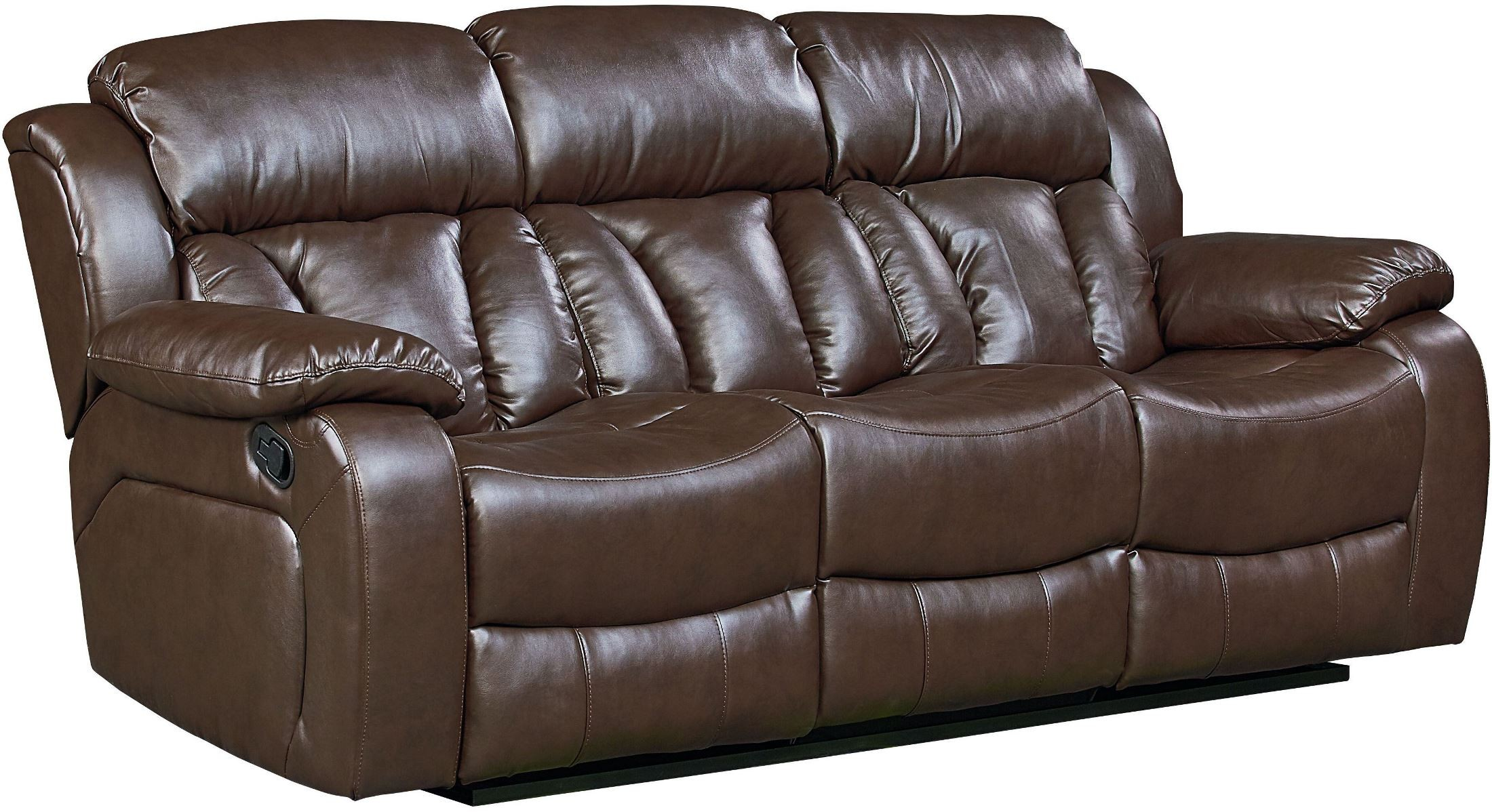 North Shore Chocolate Brown Reclining Living Room Set 4003391 Standard Furniture
