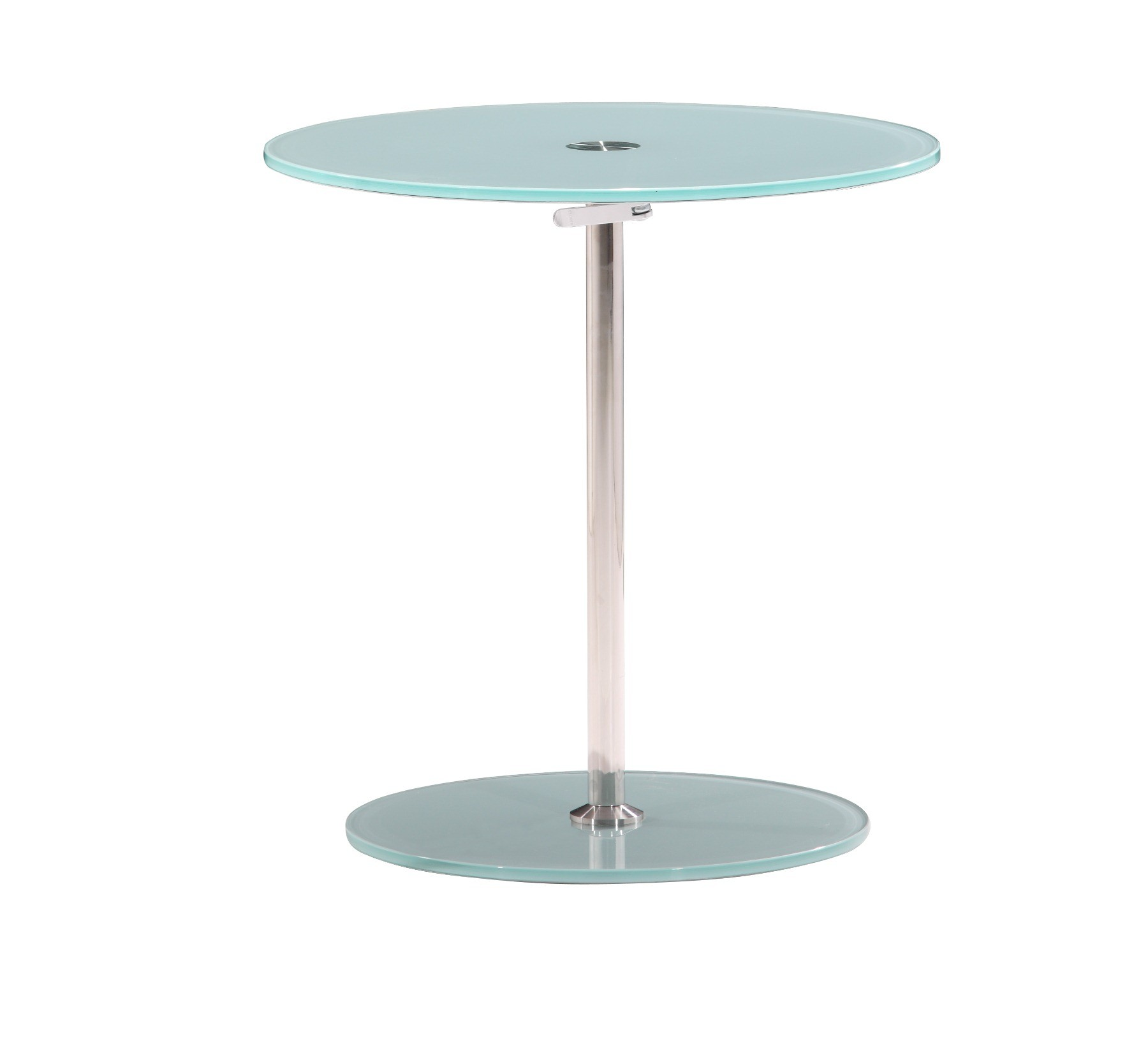 Zuo modern radical side table frosted glass 401150 contemporary furniture Frosted glass furniture