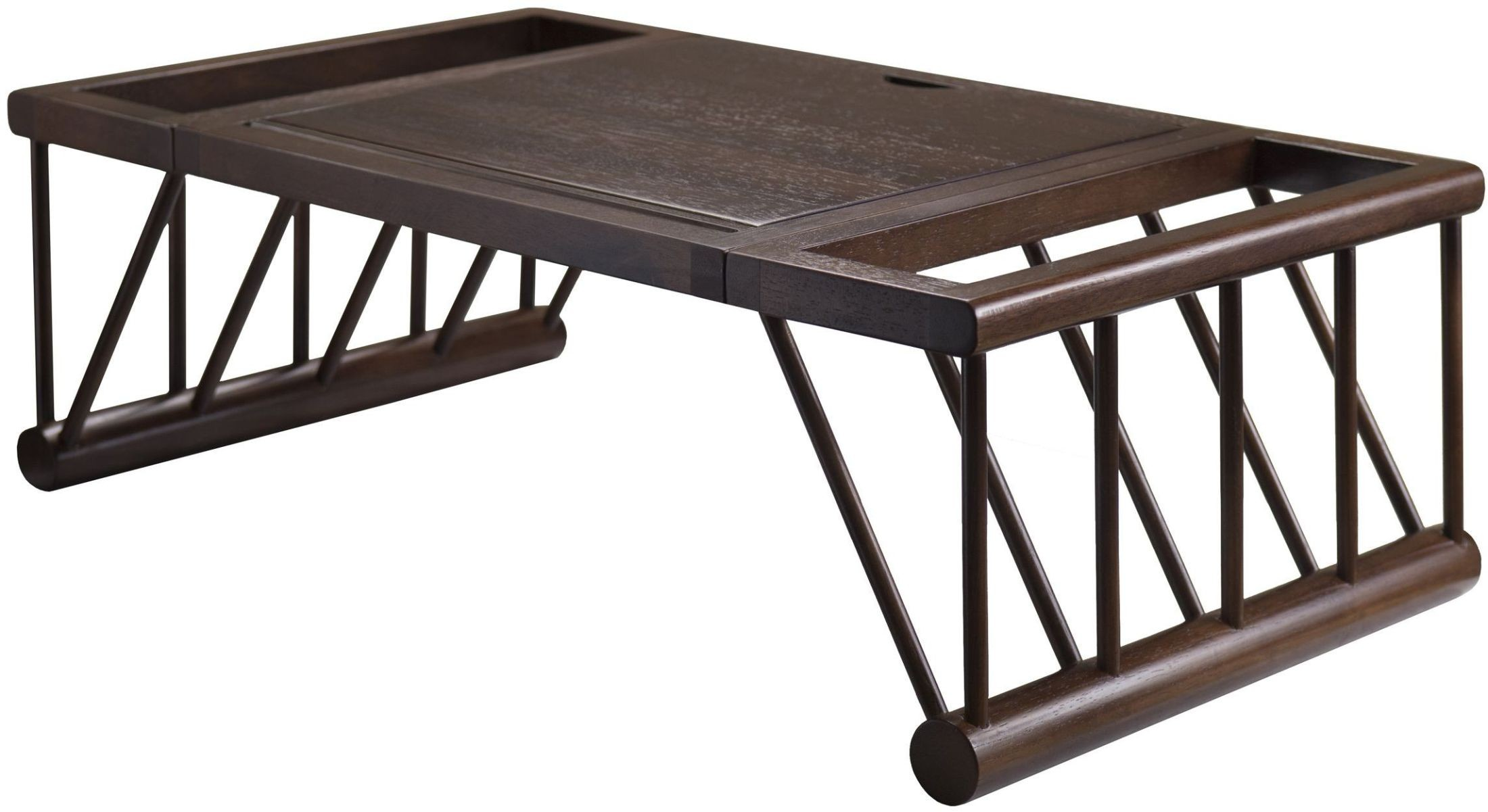 Cambridge Cappuccino Tilt Top Lap Bed Desk 40117 Winsome