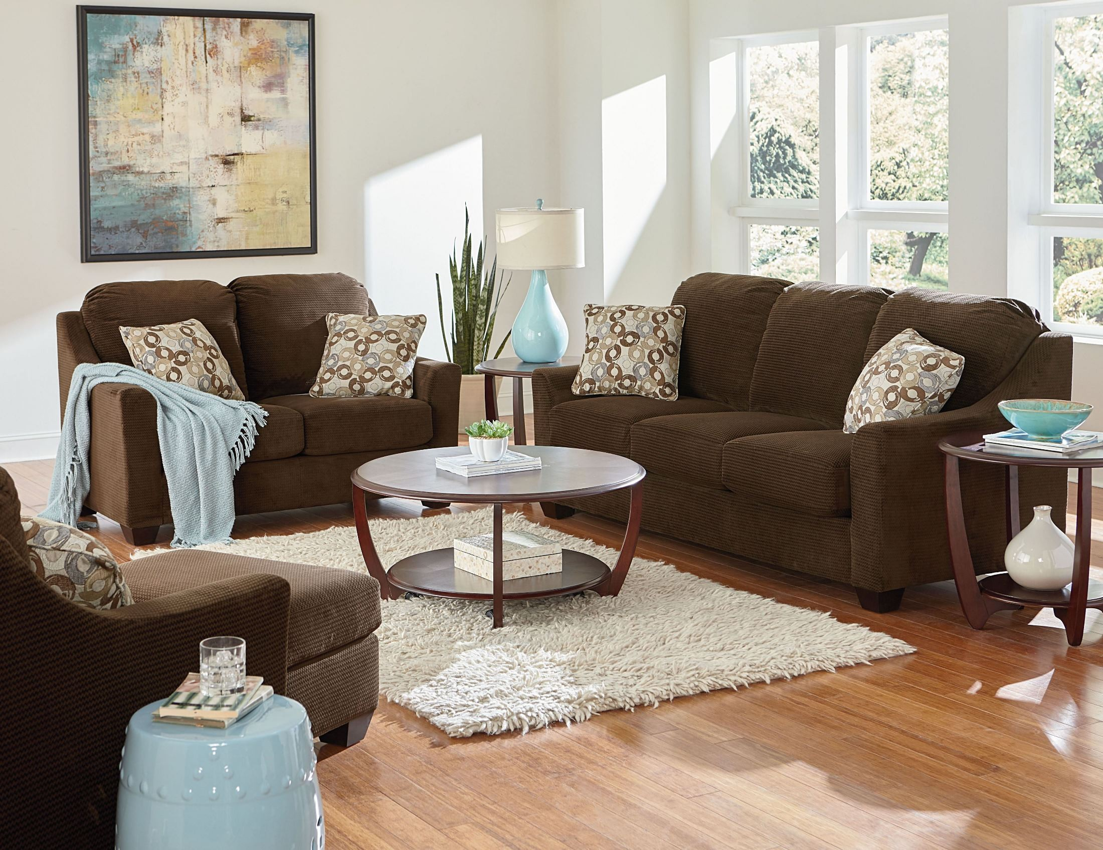 cityscape chocolate living room set 4013301 standard furniture