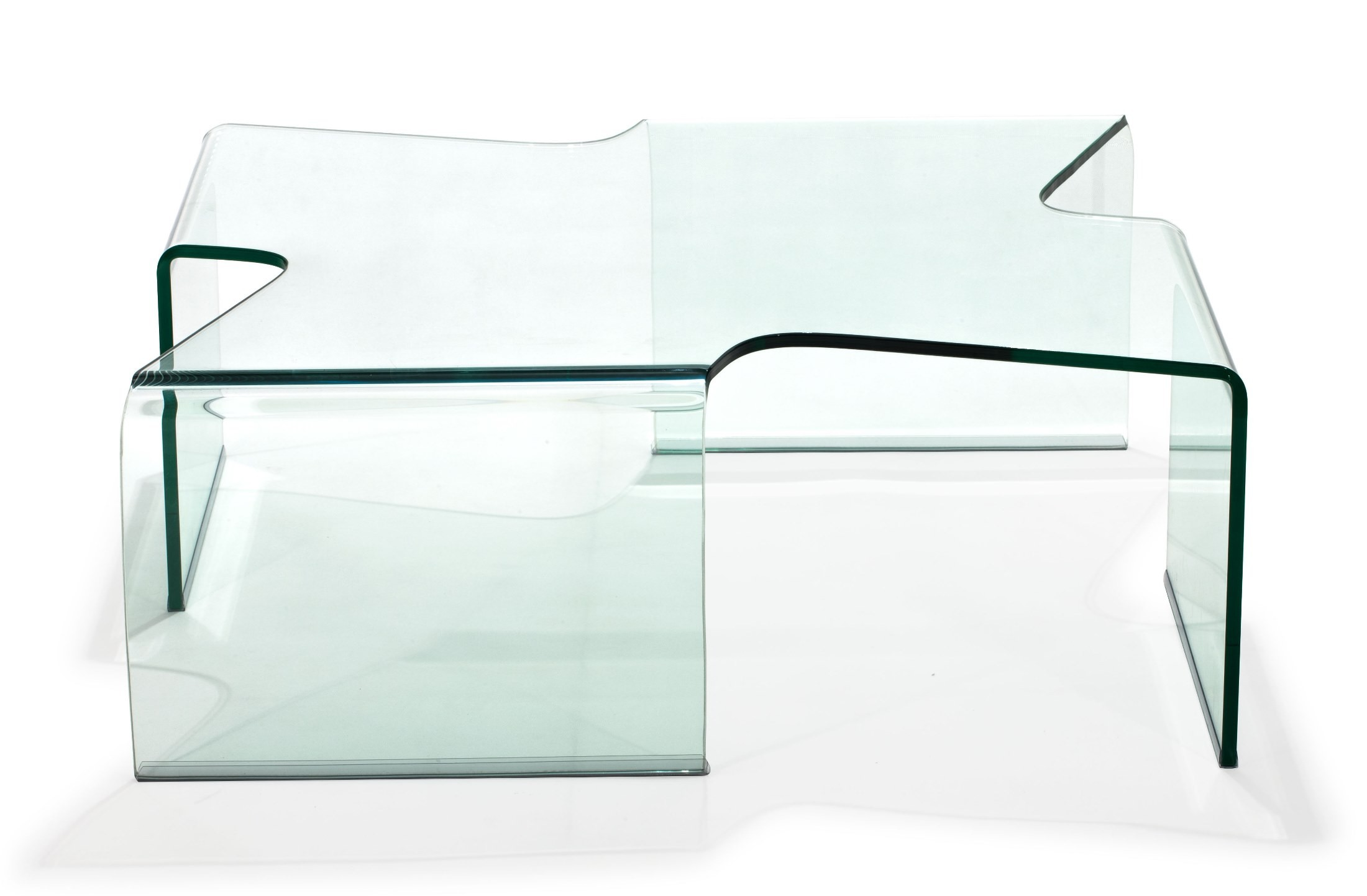 March Clear Glass Coffee Table From Zuo Mod 404086 Coleman Furniture