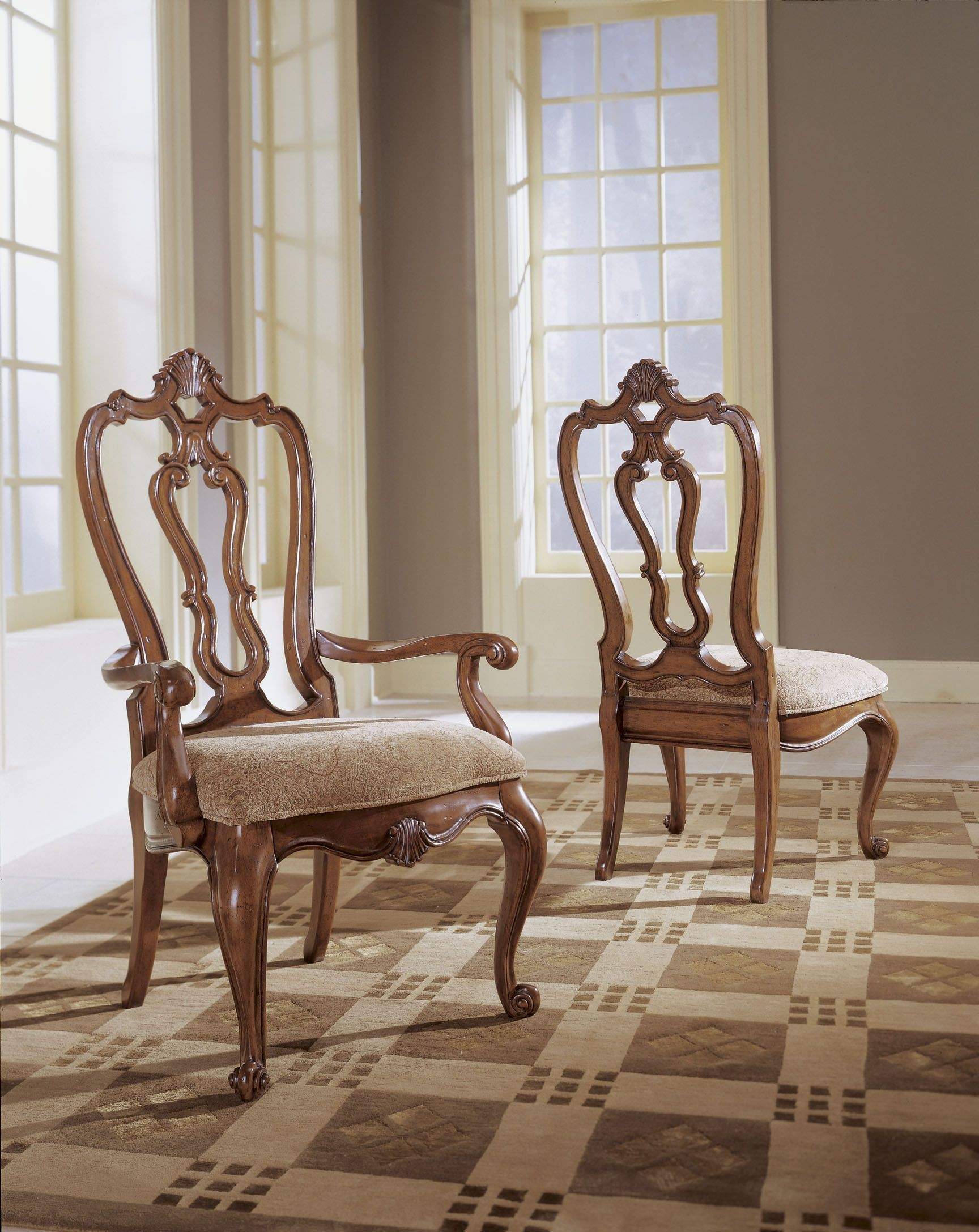 Villa Cortina Carved Back Side Chair Set of 2 from  : 409634351 from colemanfurniture.com size 1728 x 2175 jpeg 586kB