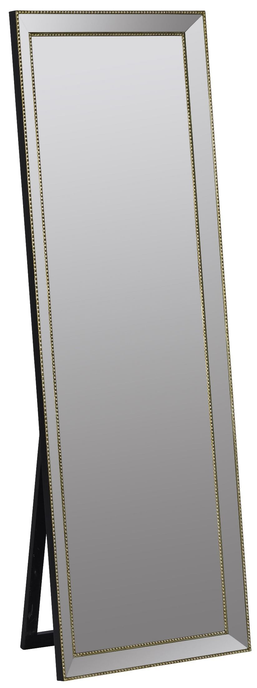 Kyson gold standing mirror 40971 cooper classics for Gold standing mirror