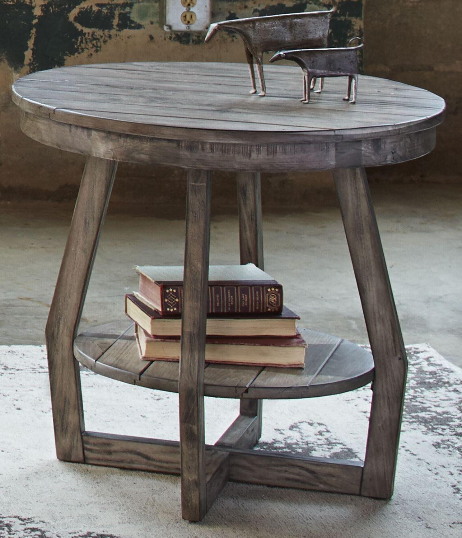 hayden way gray wash end table 41 ot1020 liberty. Black Bedroom Furniture Sets. Home Design Ideas