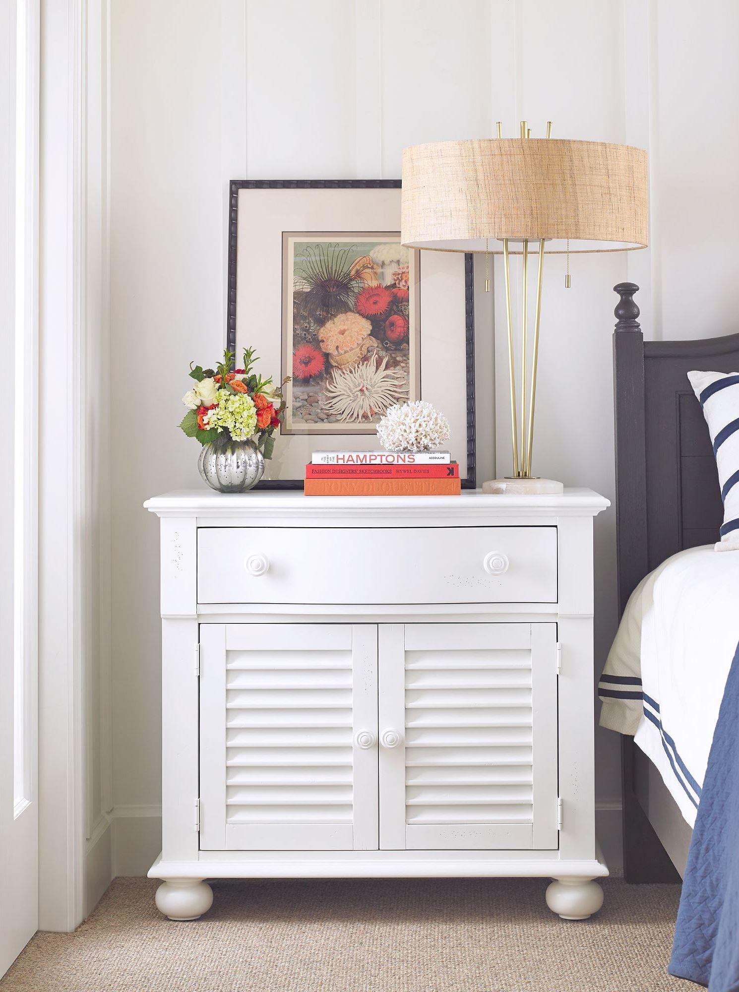 Coastal Living Retreat Saltbox White Bedroom Set From