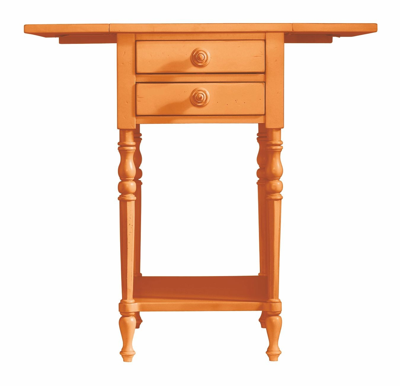 Coastal living spanish orange chesapeake table from for Furniture 411