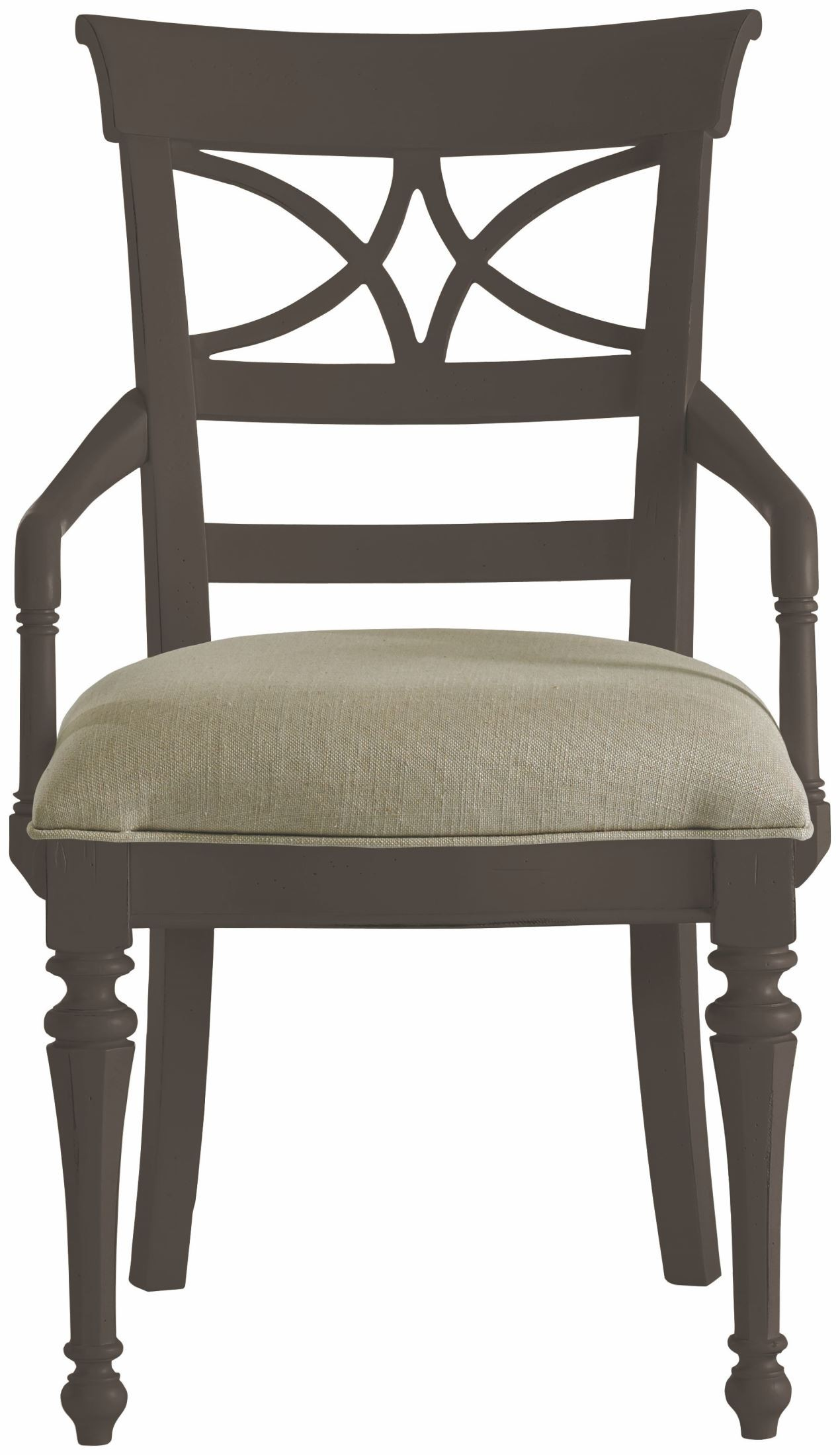 Coastal living gloucester grey sea watch arm chair from for Coastal furniture
