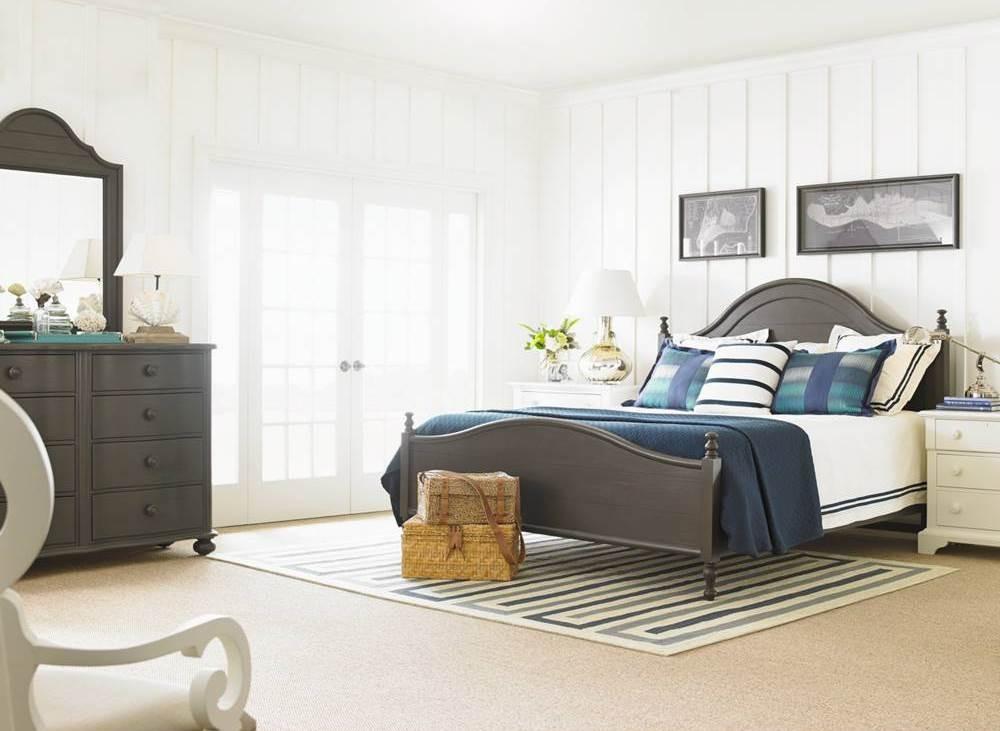 coastal living gloucester grey bedroom set from coastal
