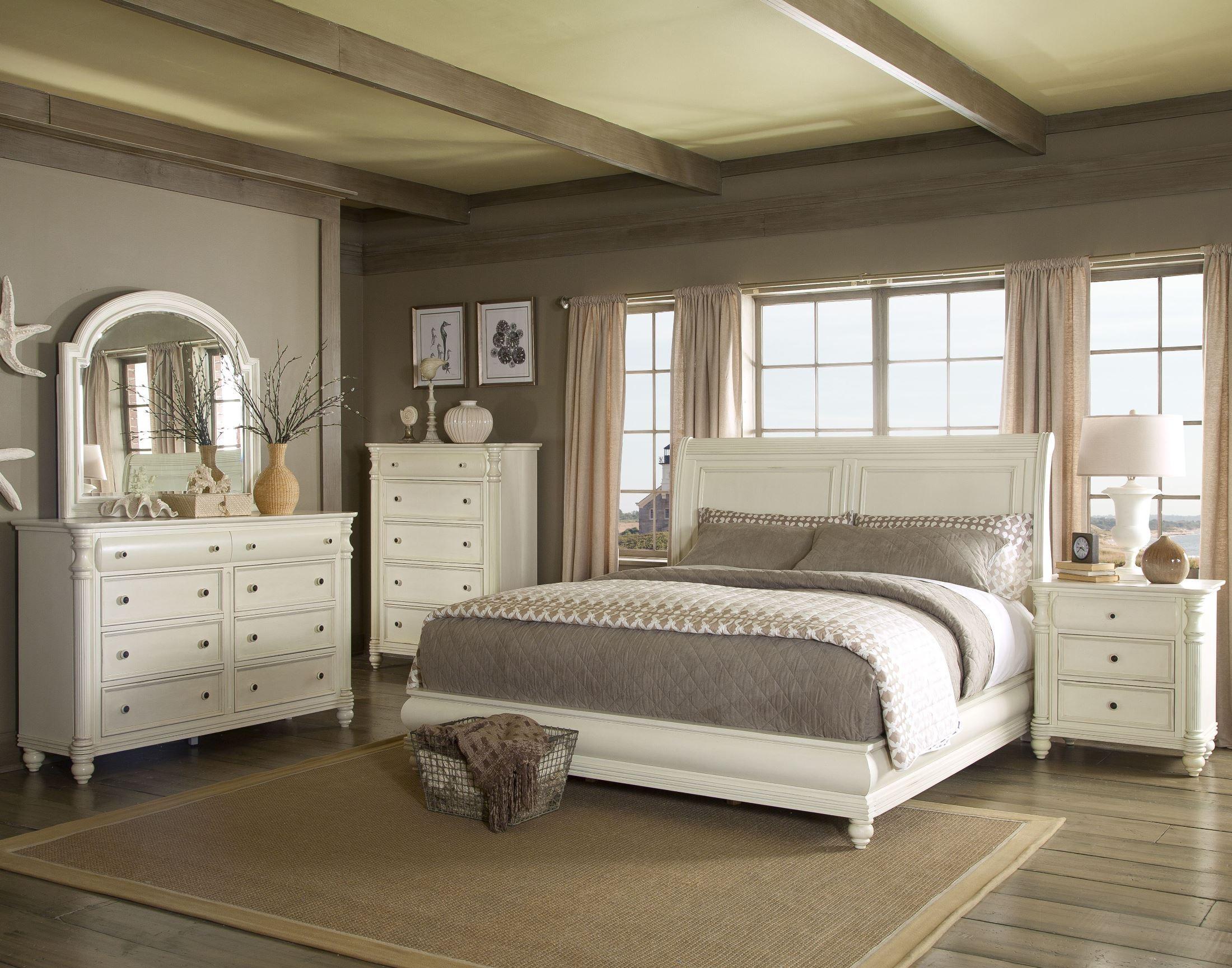 Eastport Sleigh Bedroom Set 412 Qsbed Room Klaussner