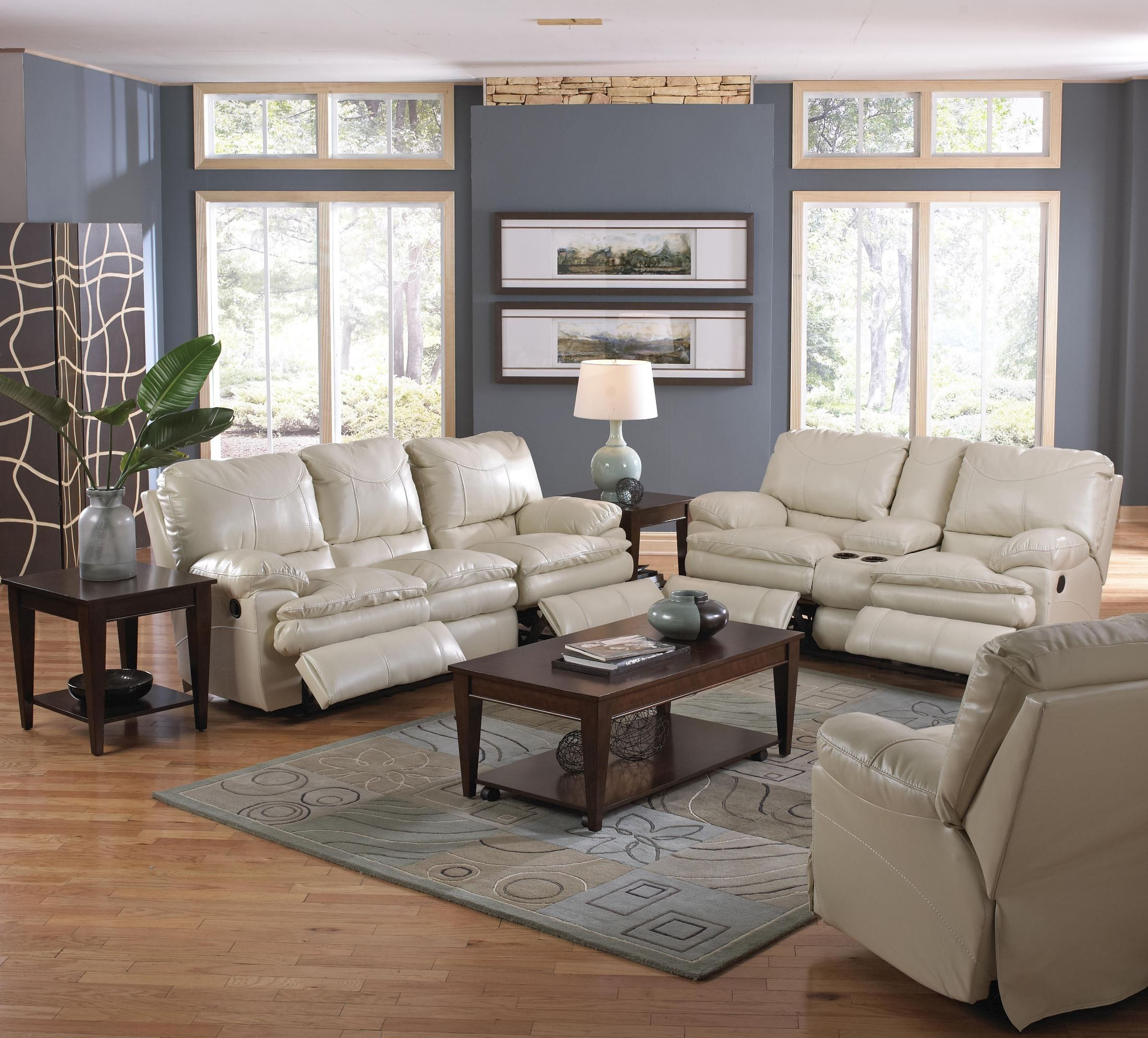 perez ice reclining loveseat with console from catnapper On perez furniture