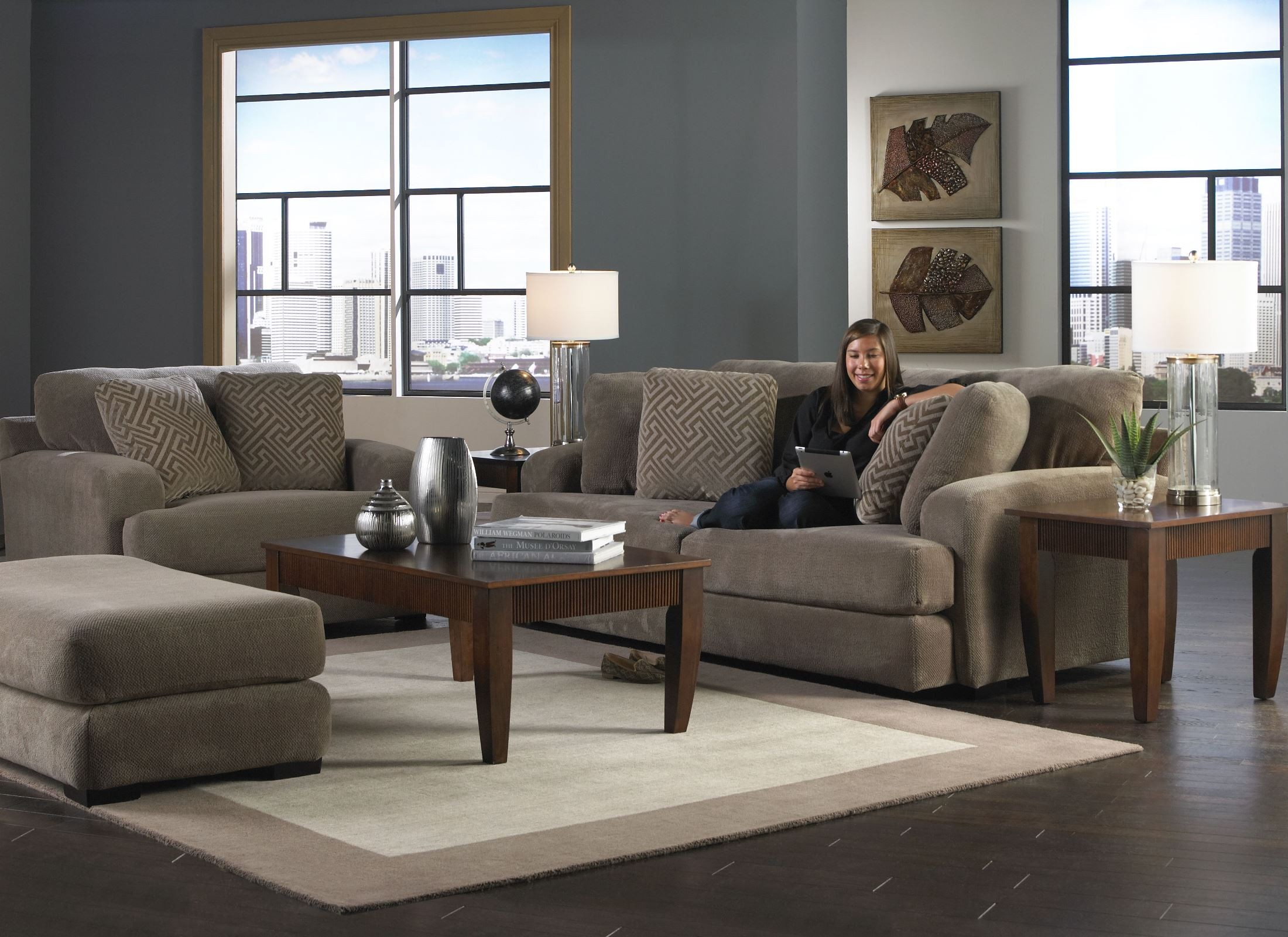 Palisades Porcini Living Room Set From Jackson