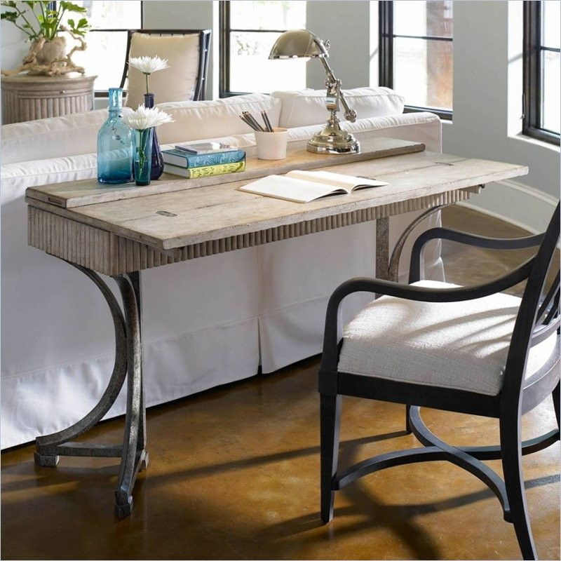 Coastal living resort sandy linen curl home office set for Coastal home office