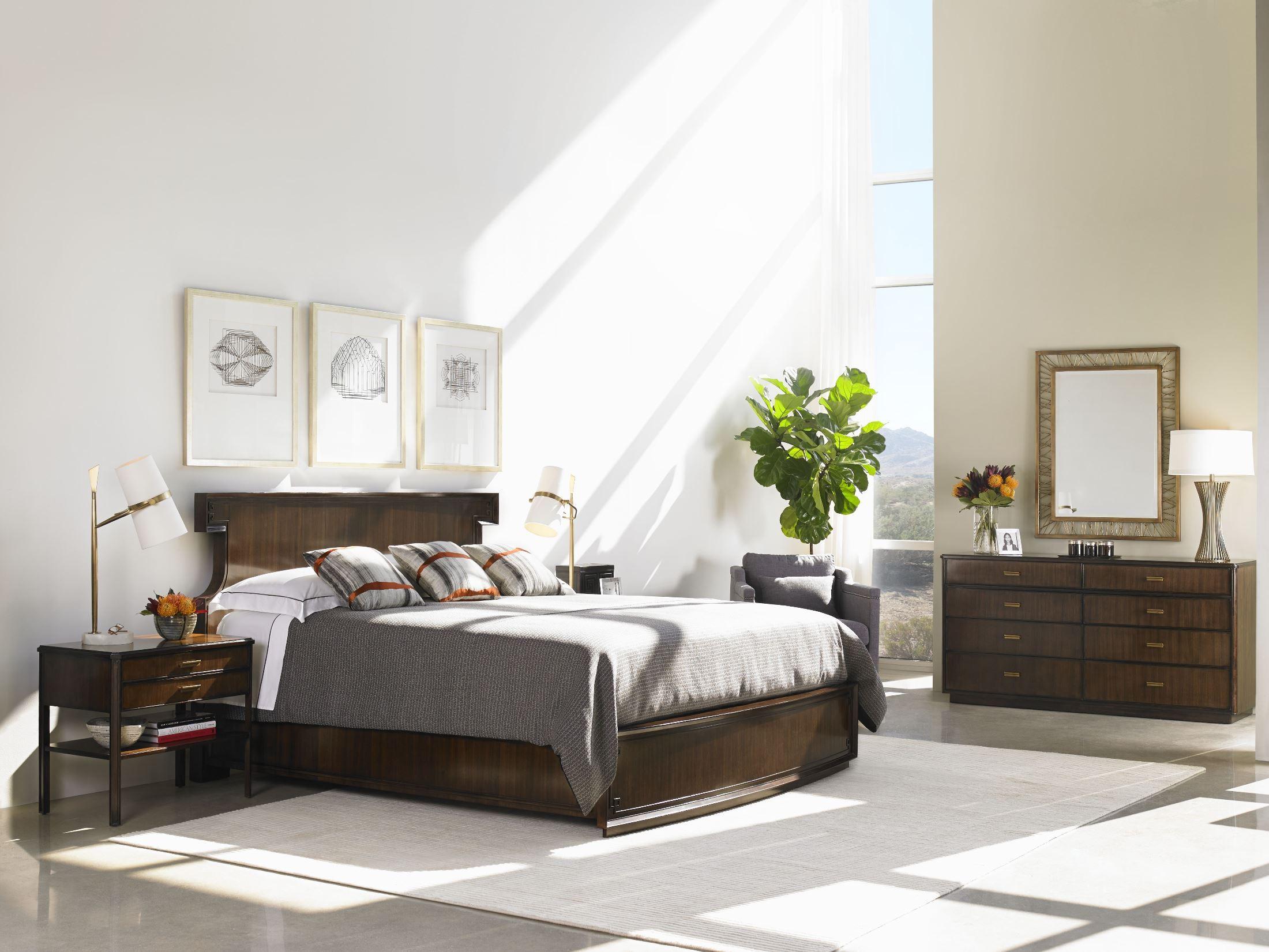 crestaire porter southridge bedroom set from stanley 436