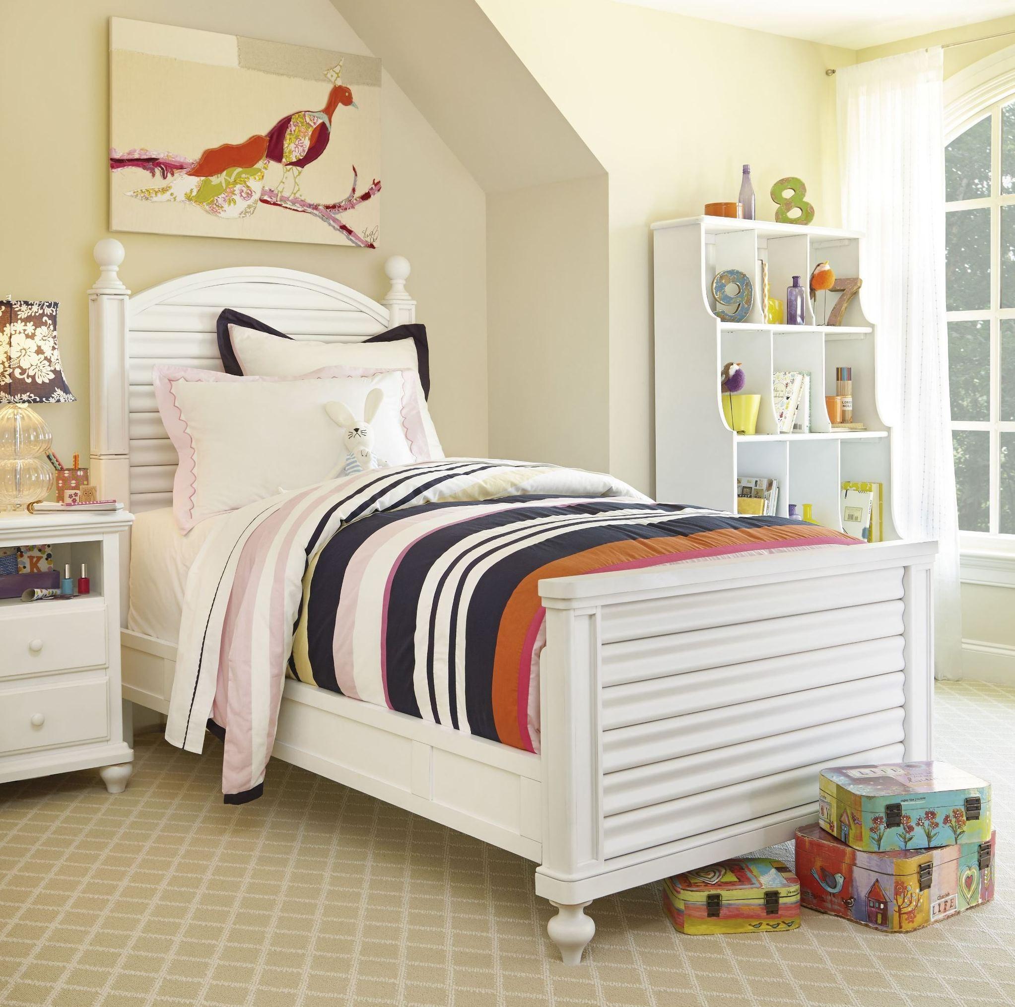 Smartstuff White Reading Bedroom Set From Smart Stuff