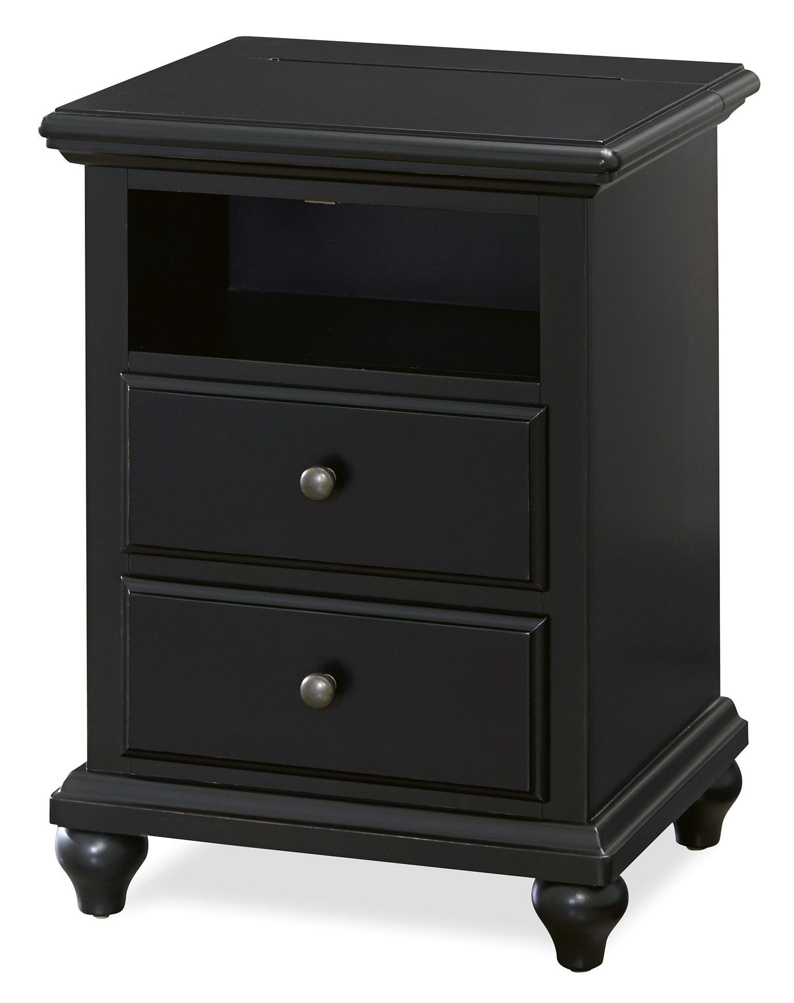 #595E72  Black Nightstand From Smart Stuff (437B080) Coleman Furniture with 1546x1953 px of Most Effective Black Nightstand And Dresser 19531546 wallpaper @ avoidforclosure.info
